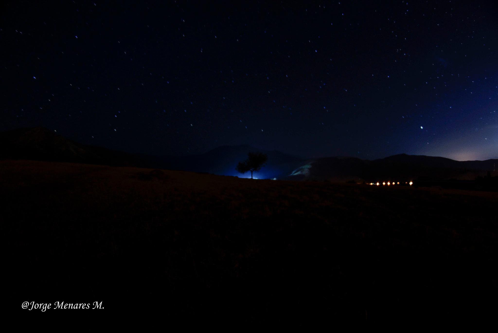 noche en El Llano-Putaendo_Chile by Jorge Menares Moreira