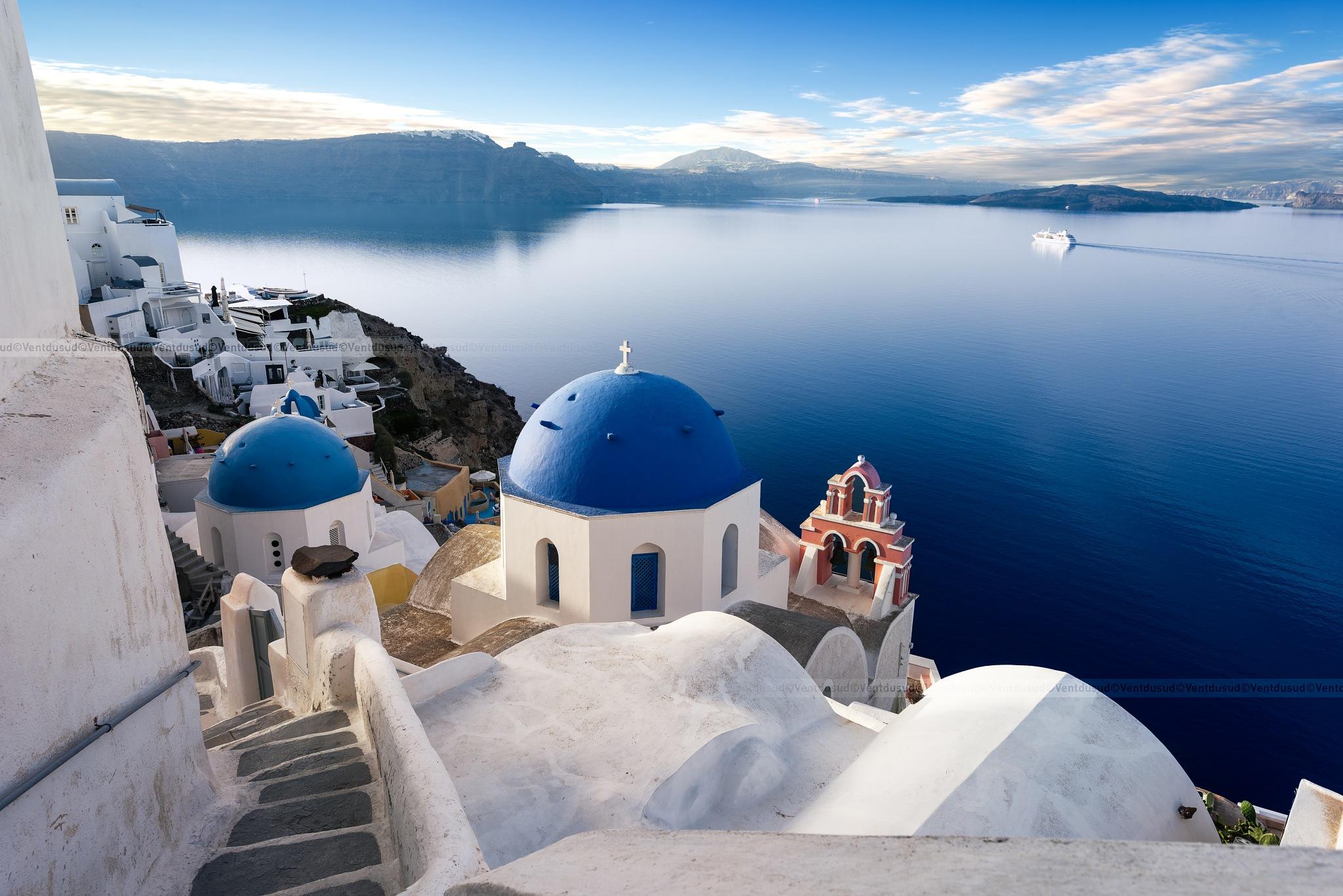 Oia Santorini sprit by ventdusud