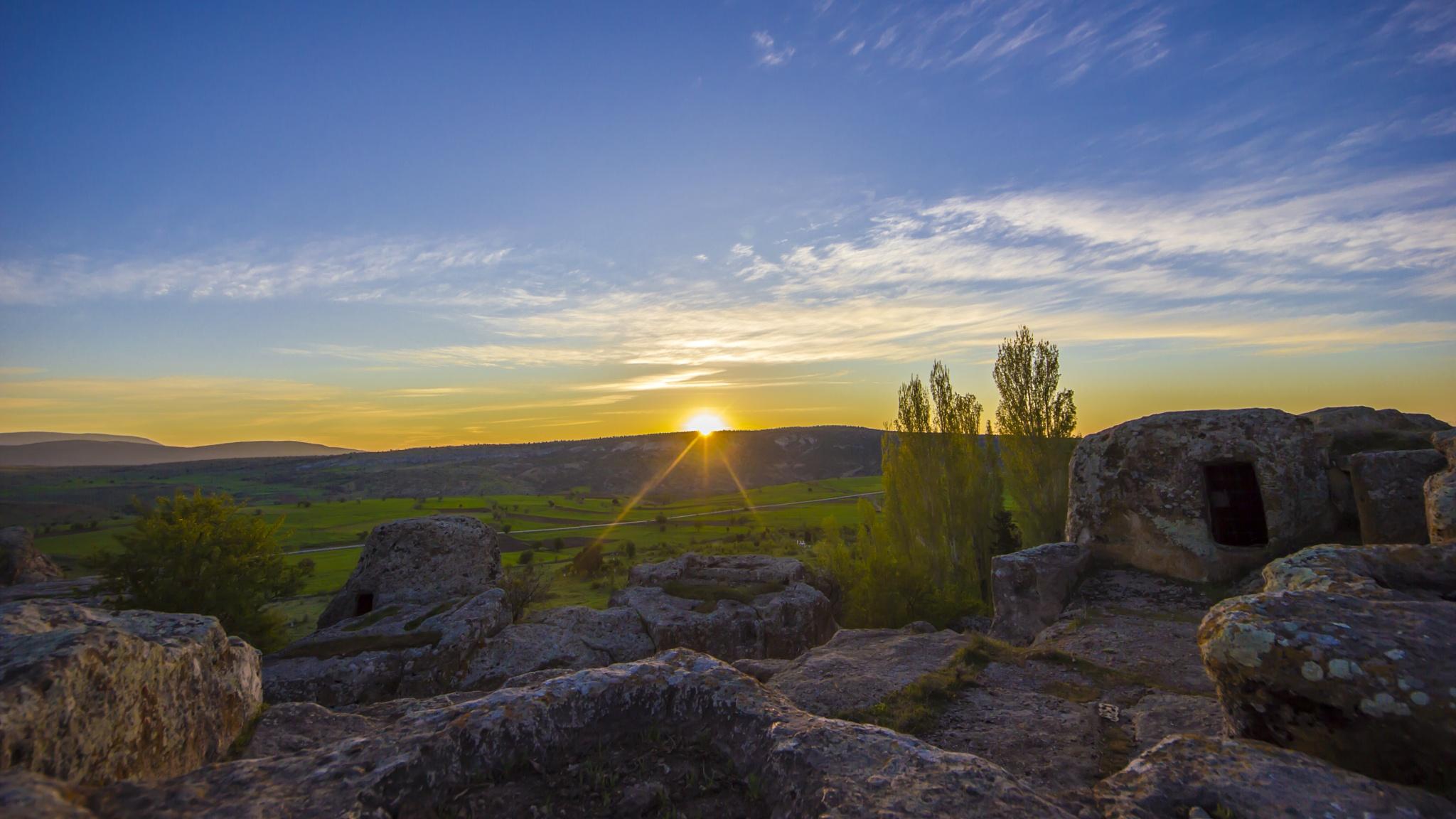 Kilistra Sunrise by Mehmet Can