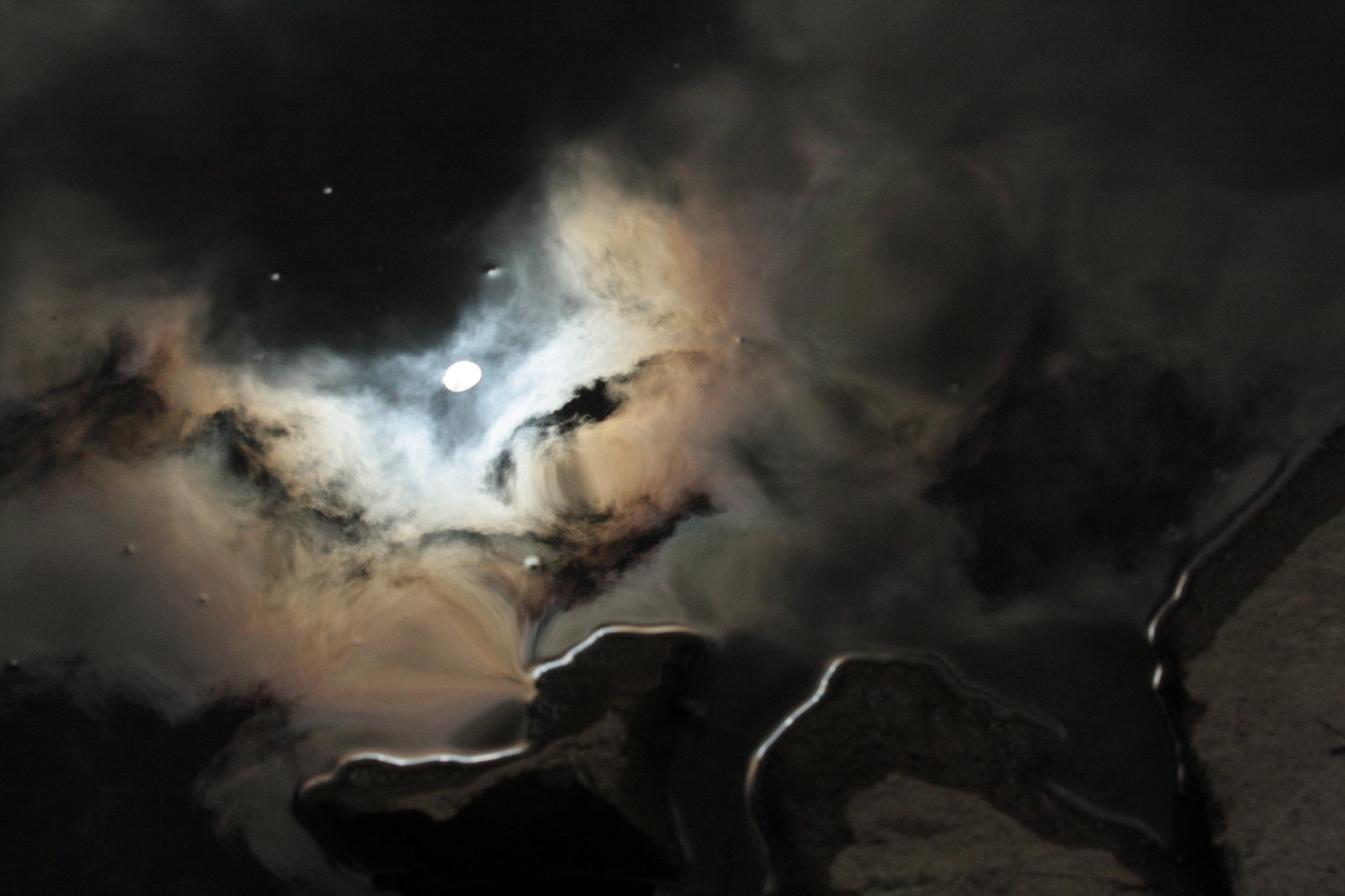 oil slick nebula by JeffreyJames