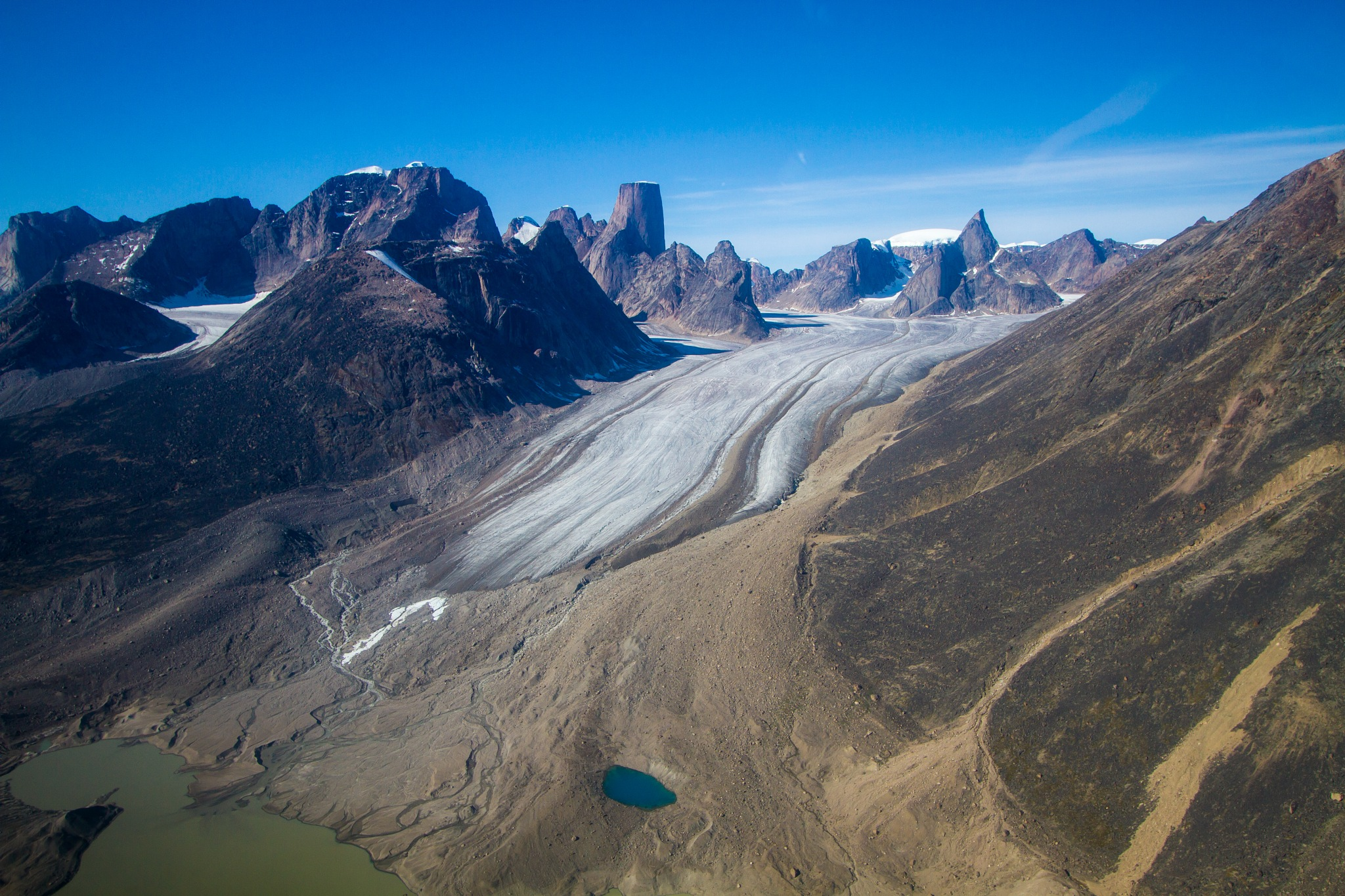 Glacier in Auyuittuq national park, Nunavut. CAN. by StephaneCaron
