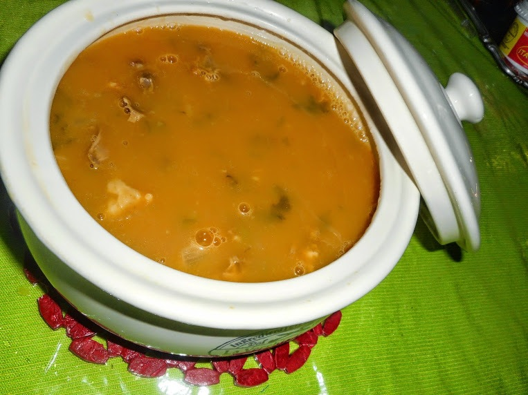 Sopa cremosa de abóbora by soniatelmira