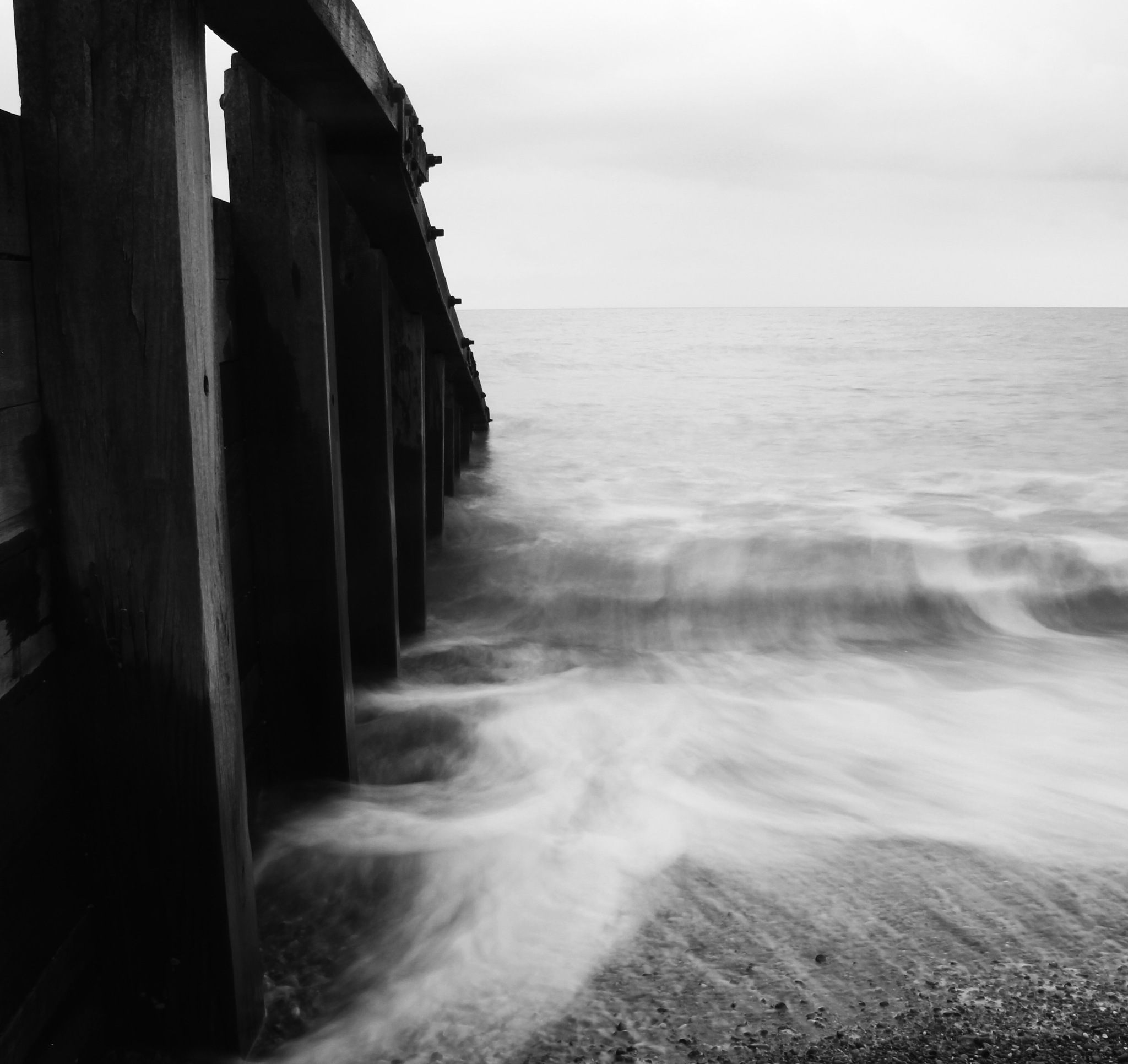 Moving waves by James Oakley