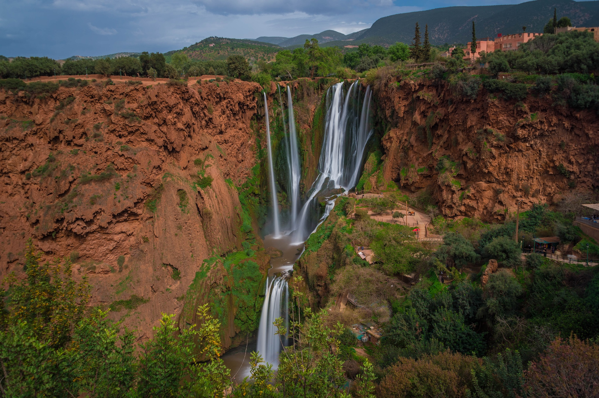 #cascadesouzoud #benimellal #morocco by MohamedBachirBennani