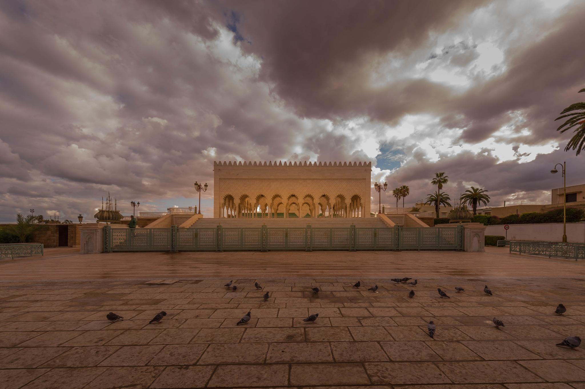 MAUSOLEE RABAT by MohamedBachirBennani