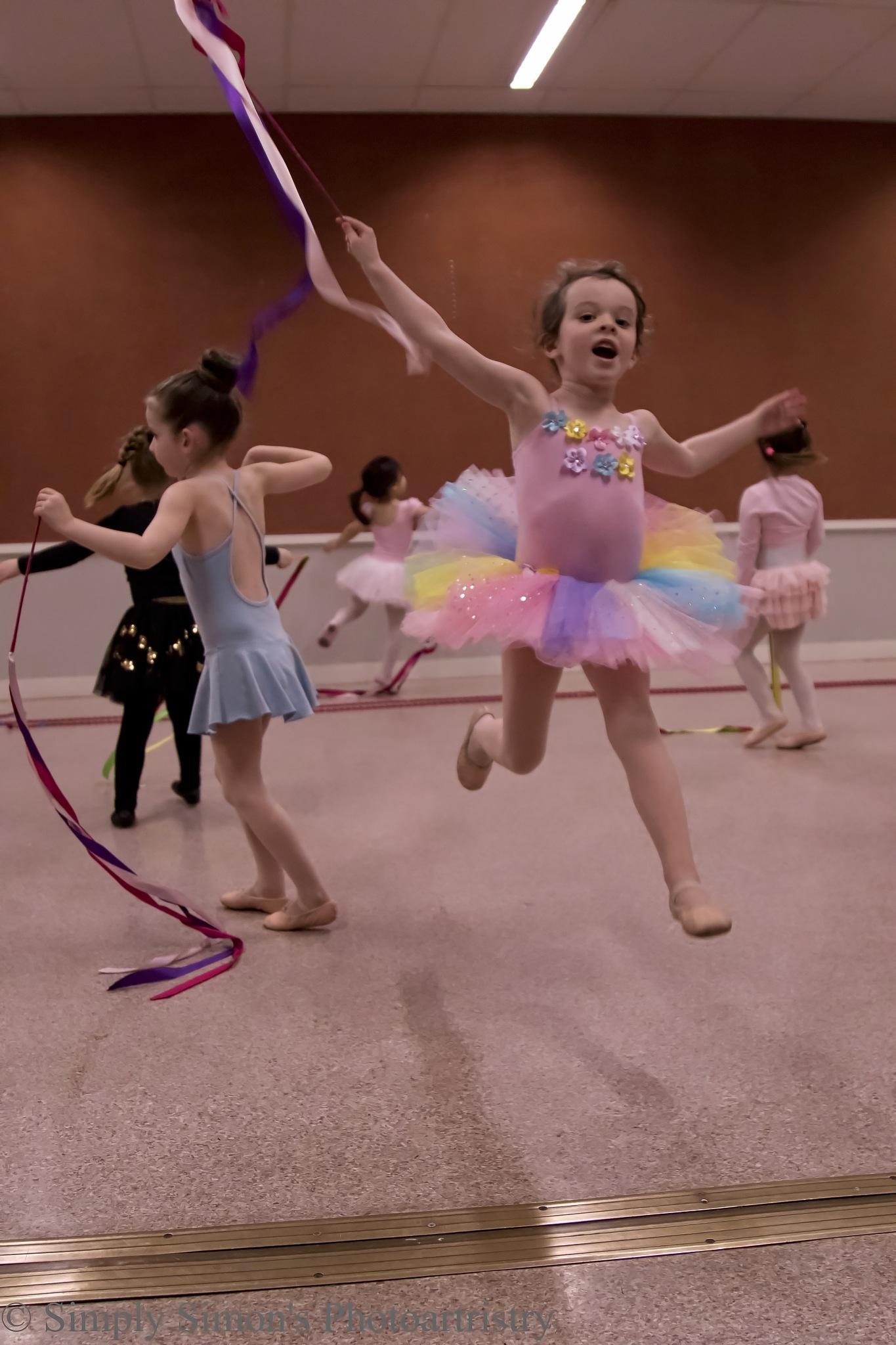 Flying Ballerina by Simon Hall