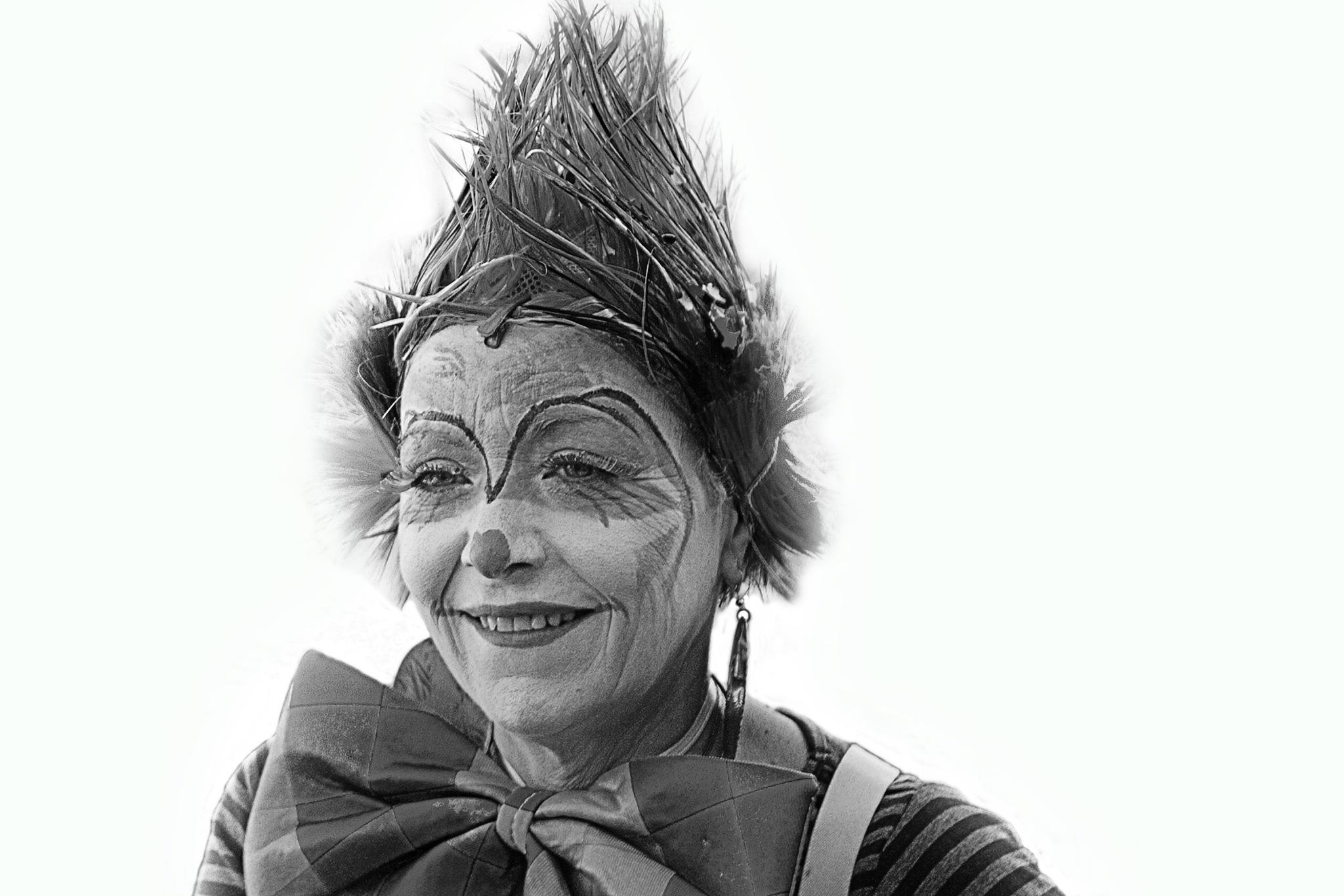 Le clown. by jef Polizzi