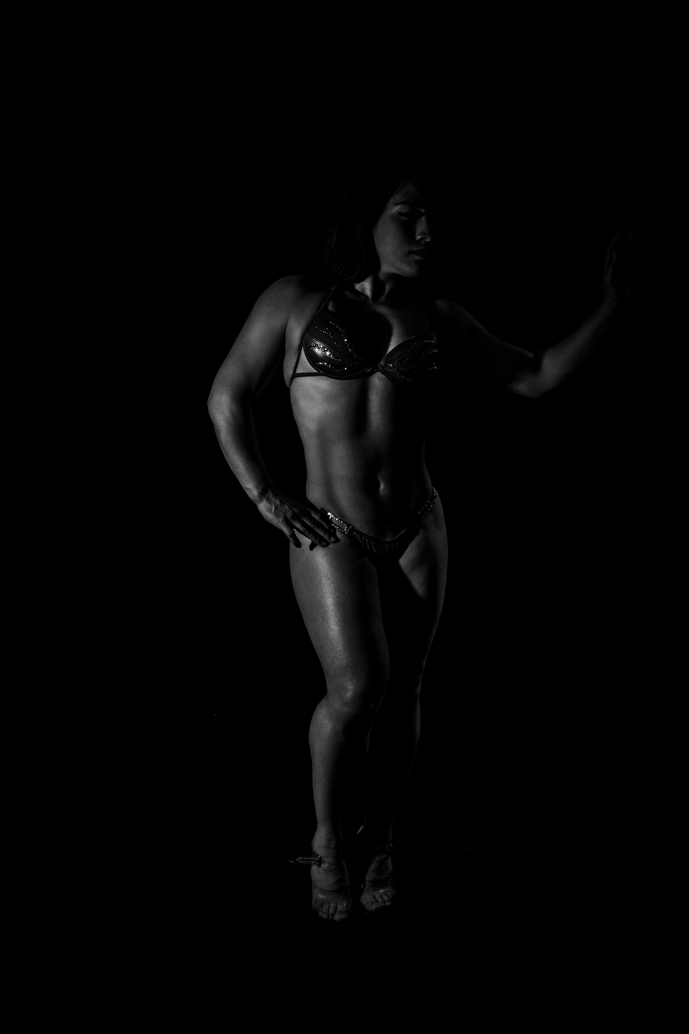 Fitness in B&W by Aris M Le
