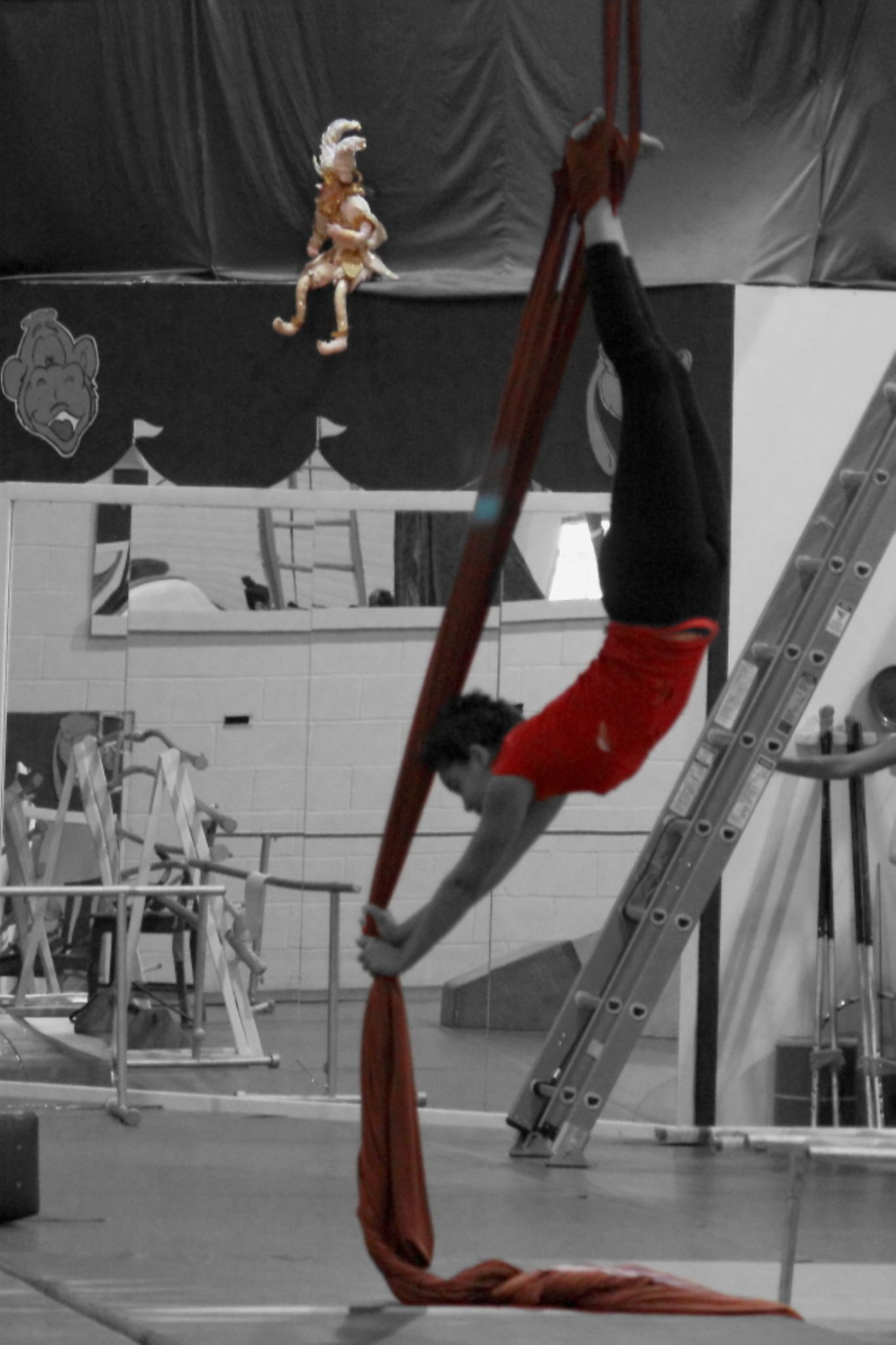 My Daughter on Silks by JaniceArnottPhotography
