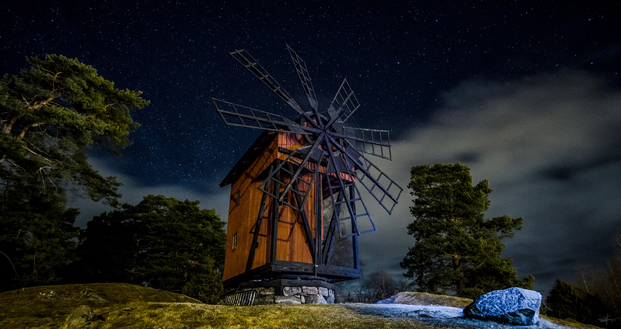 Old Windwill by Witchcraftphotos