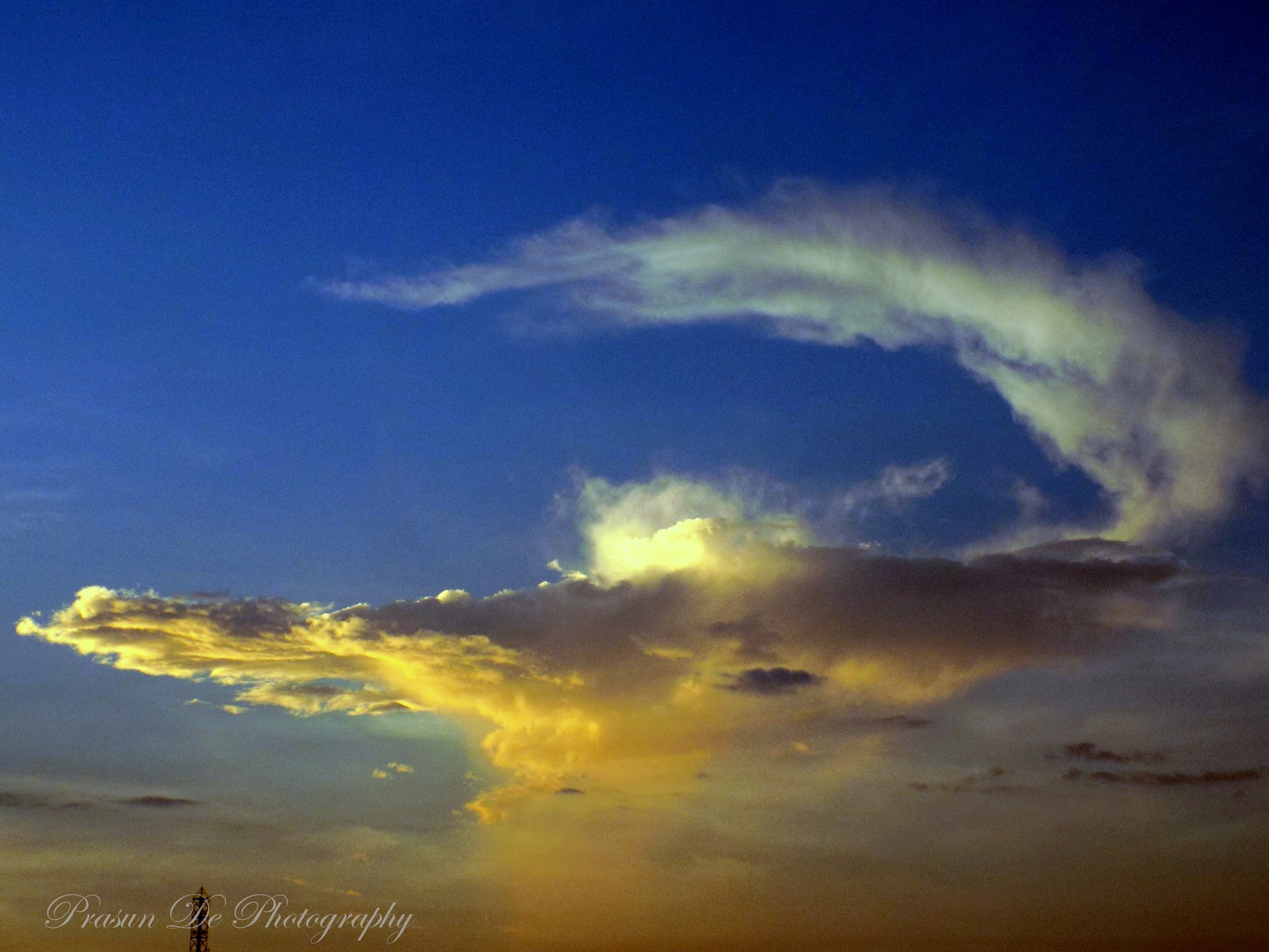 Aladin's Magic Lamp on the sky by Prasun De