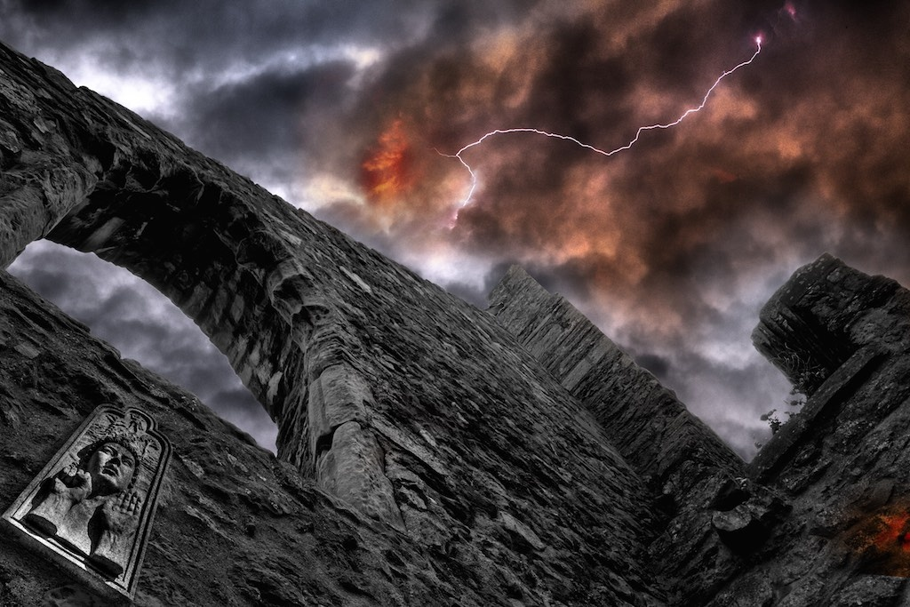 Ruins of Howth by Todd J. Donery