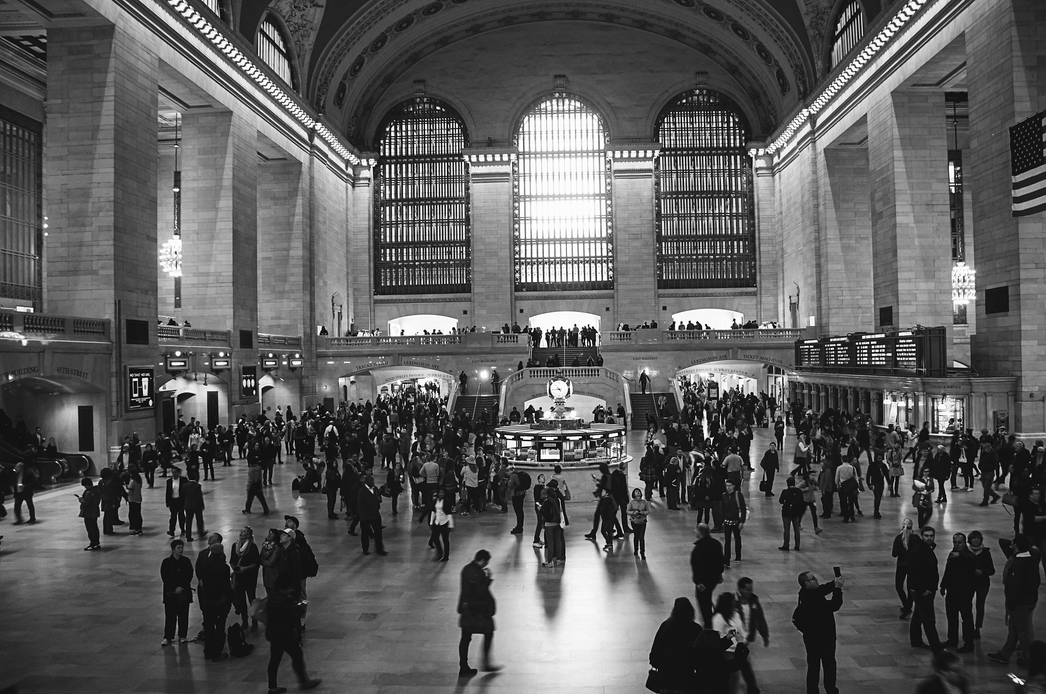 Grand Central Station by Jacqueline Rose