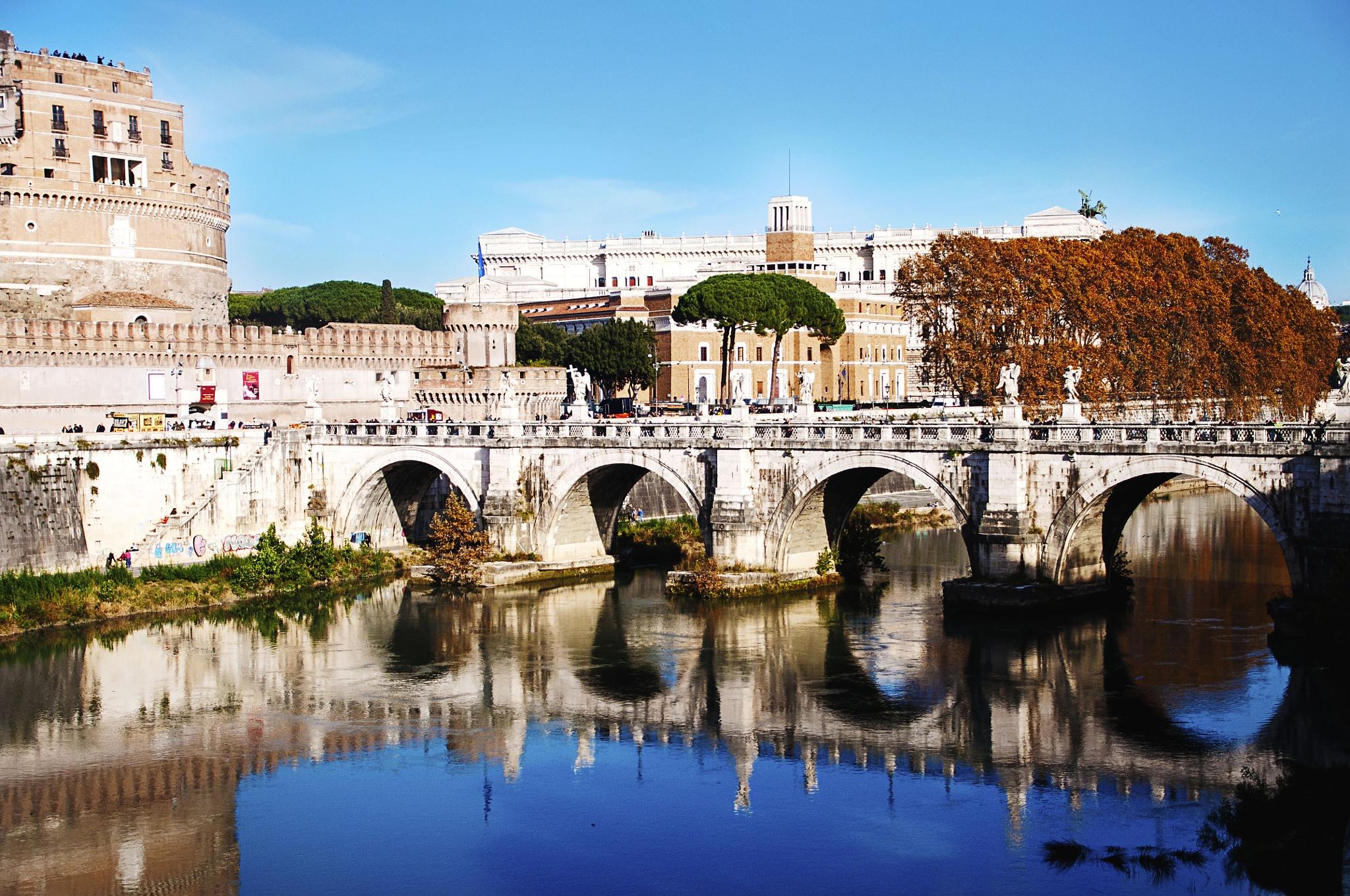 Tiber River by Jacqueline Rose