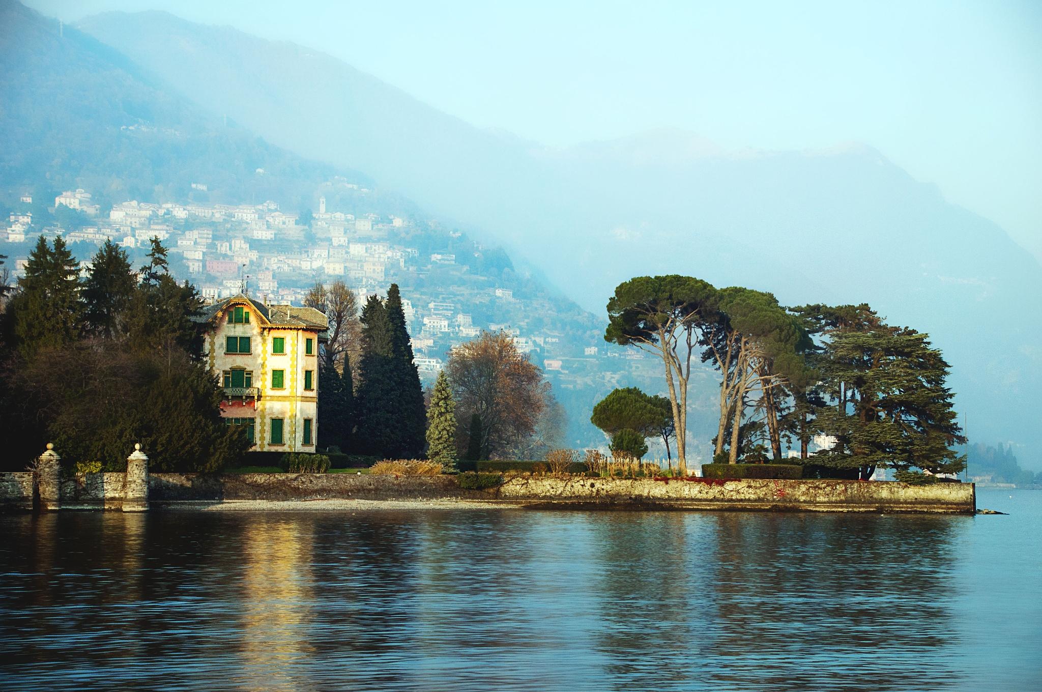 Lake Como by Jacqueline Rose
