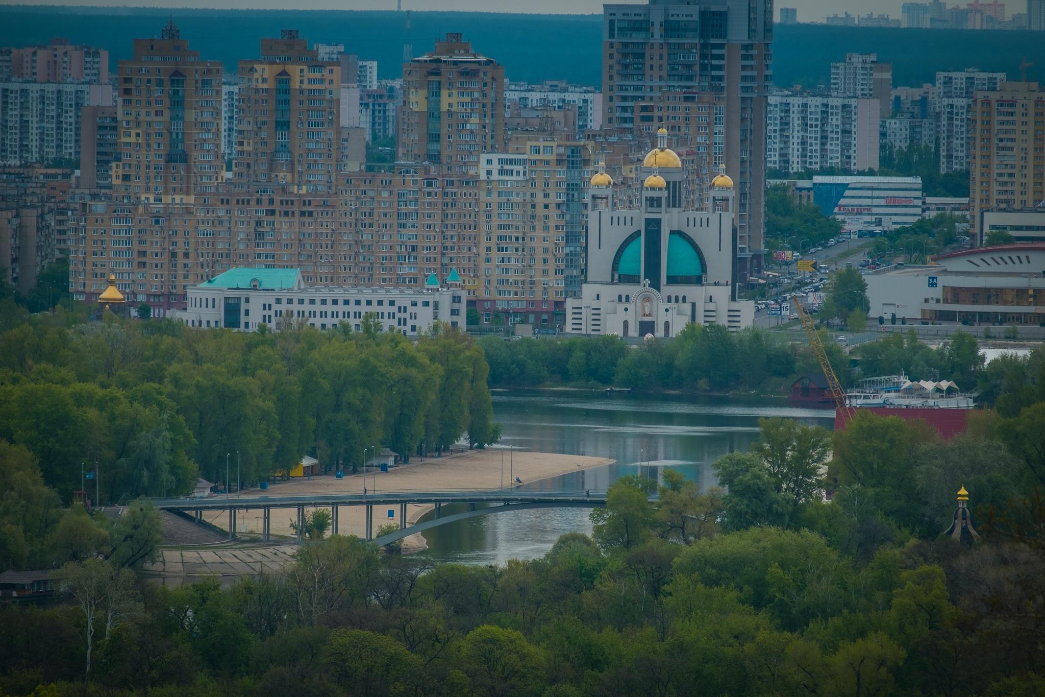 Beach in the city, Kiev by DimaShevchuk