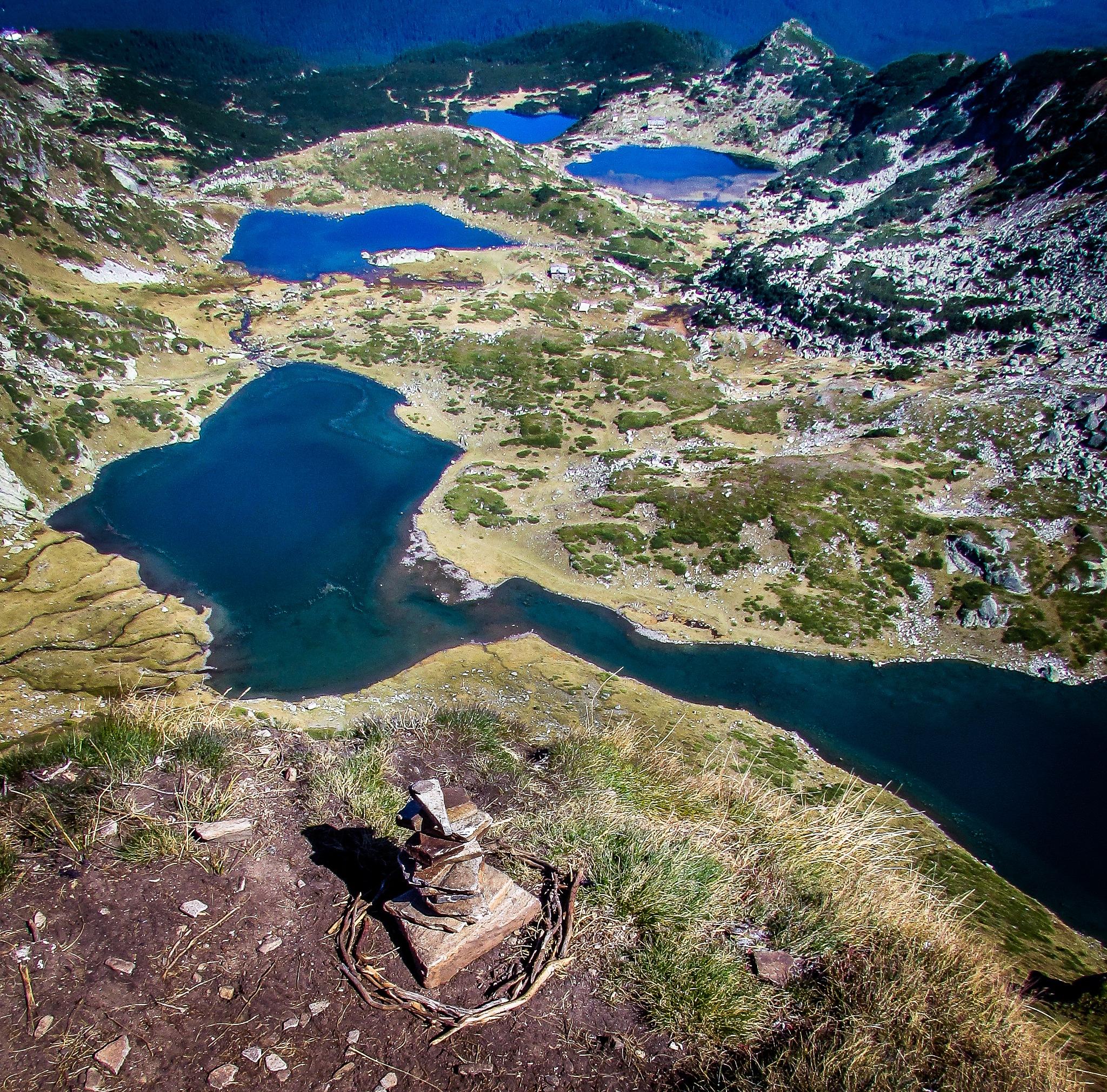 Seven RIla Lakes by Ivaylo Lazarov