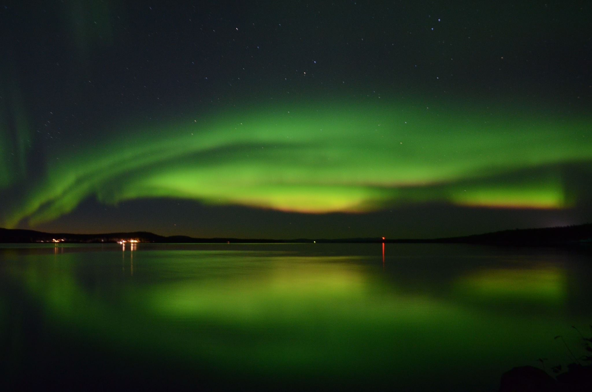 Aurora reflections by steve77
