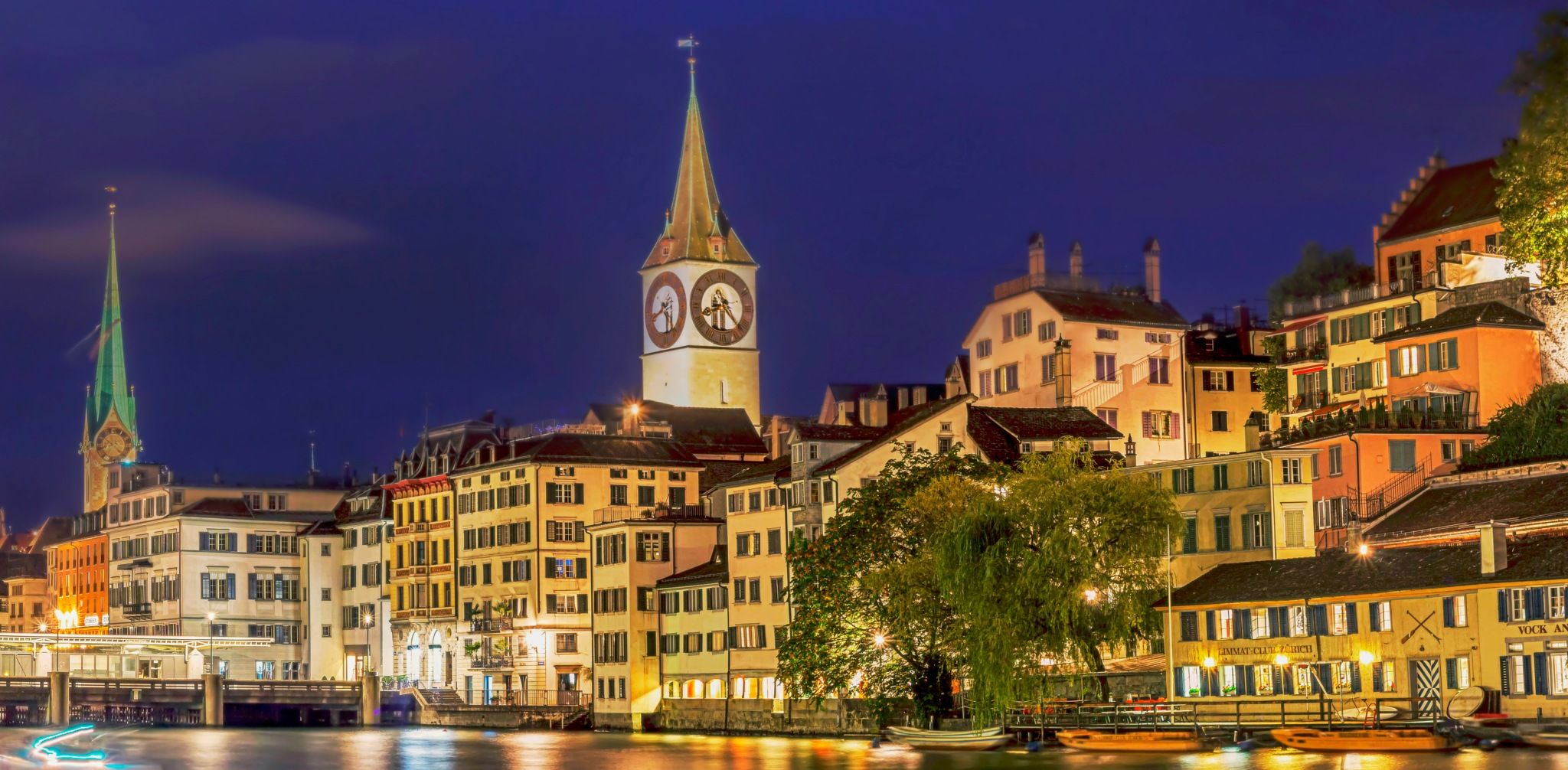 Zurich Old town by psandipan