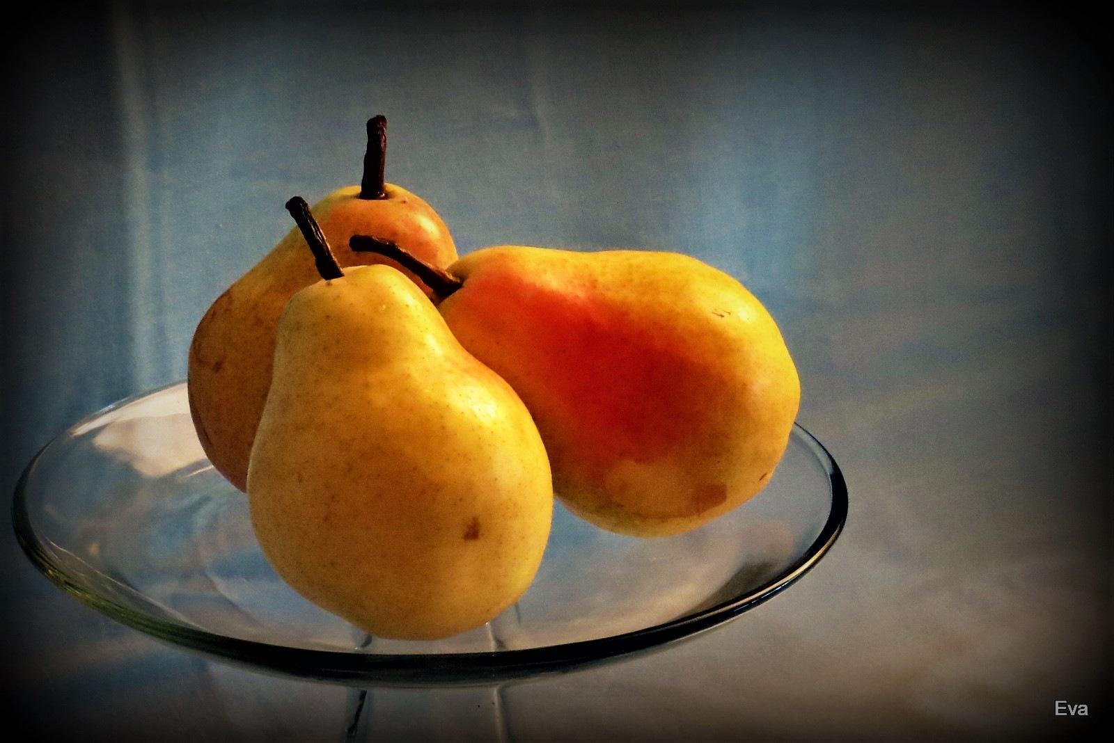 Pears still life by EvaKassler