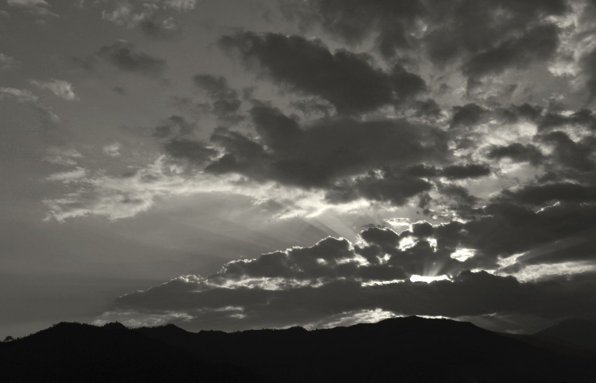 sunset view by QueenEnigma