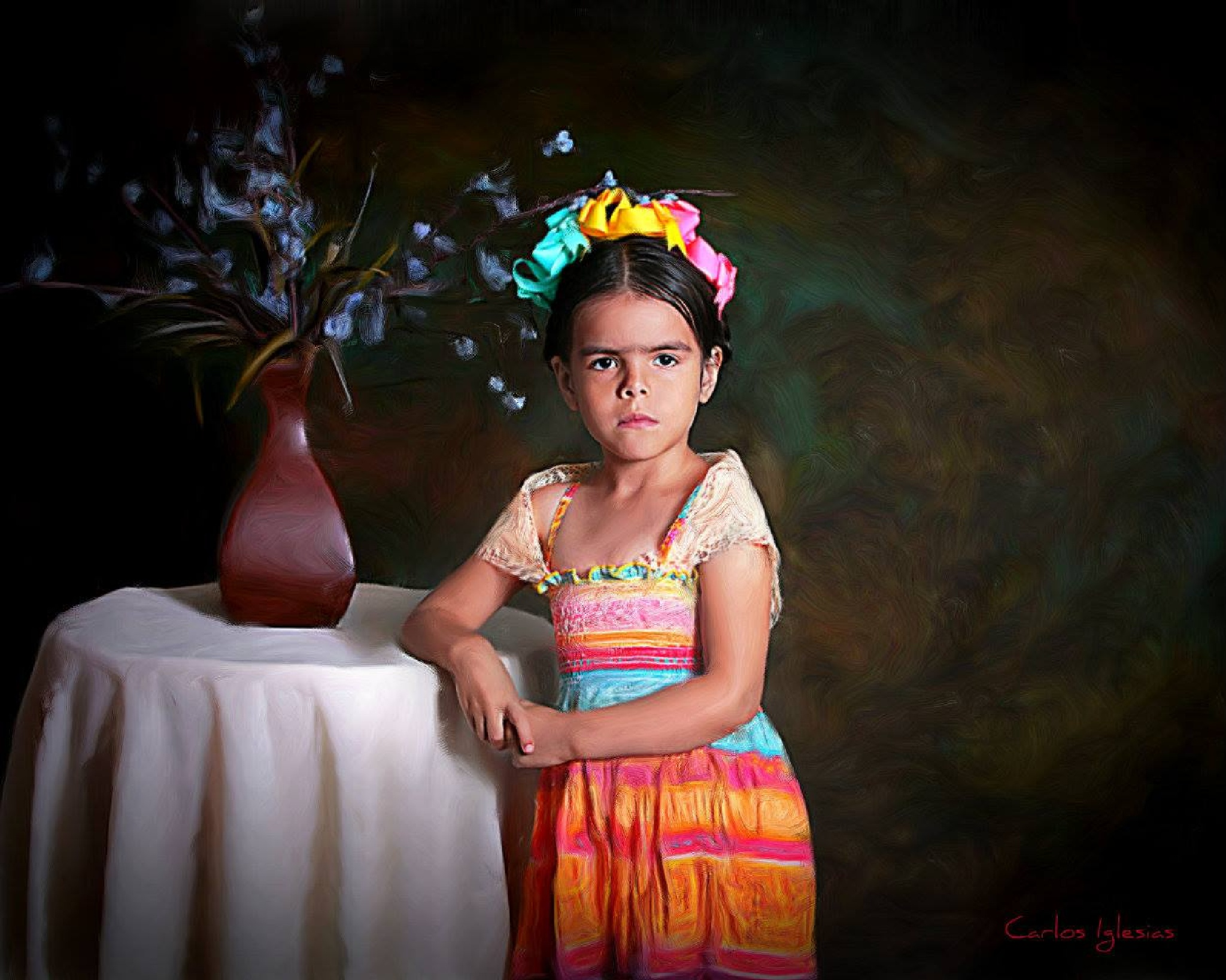 Little Frida by Carlos Iglesias