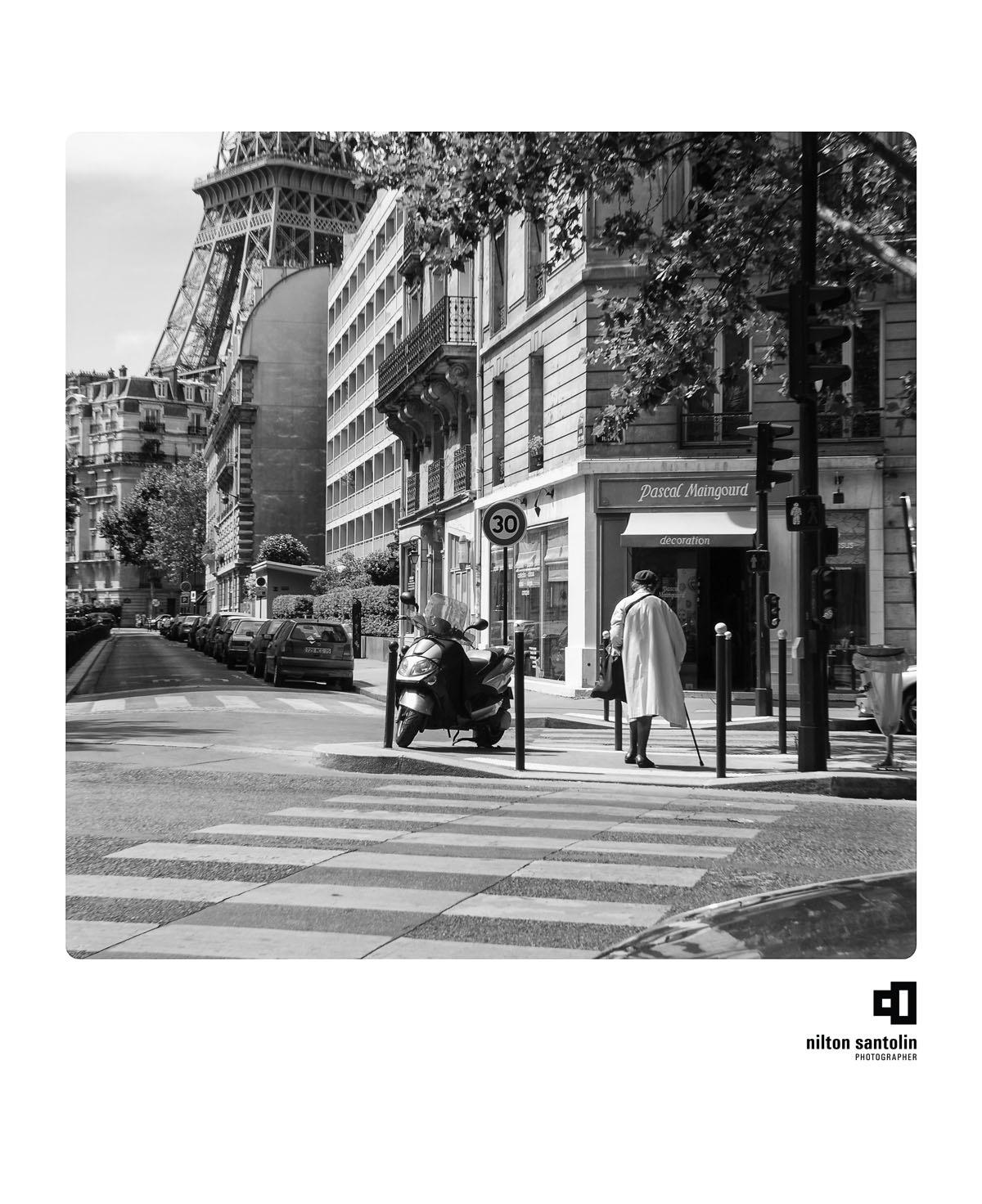 Polaroids de Paris by Nilton Santolin