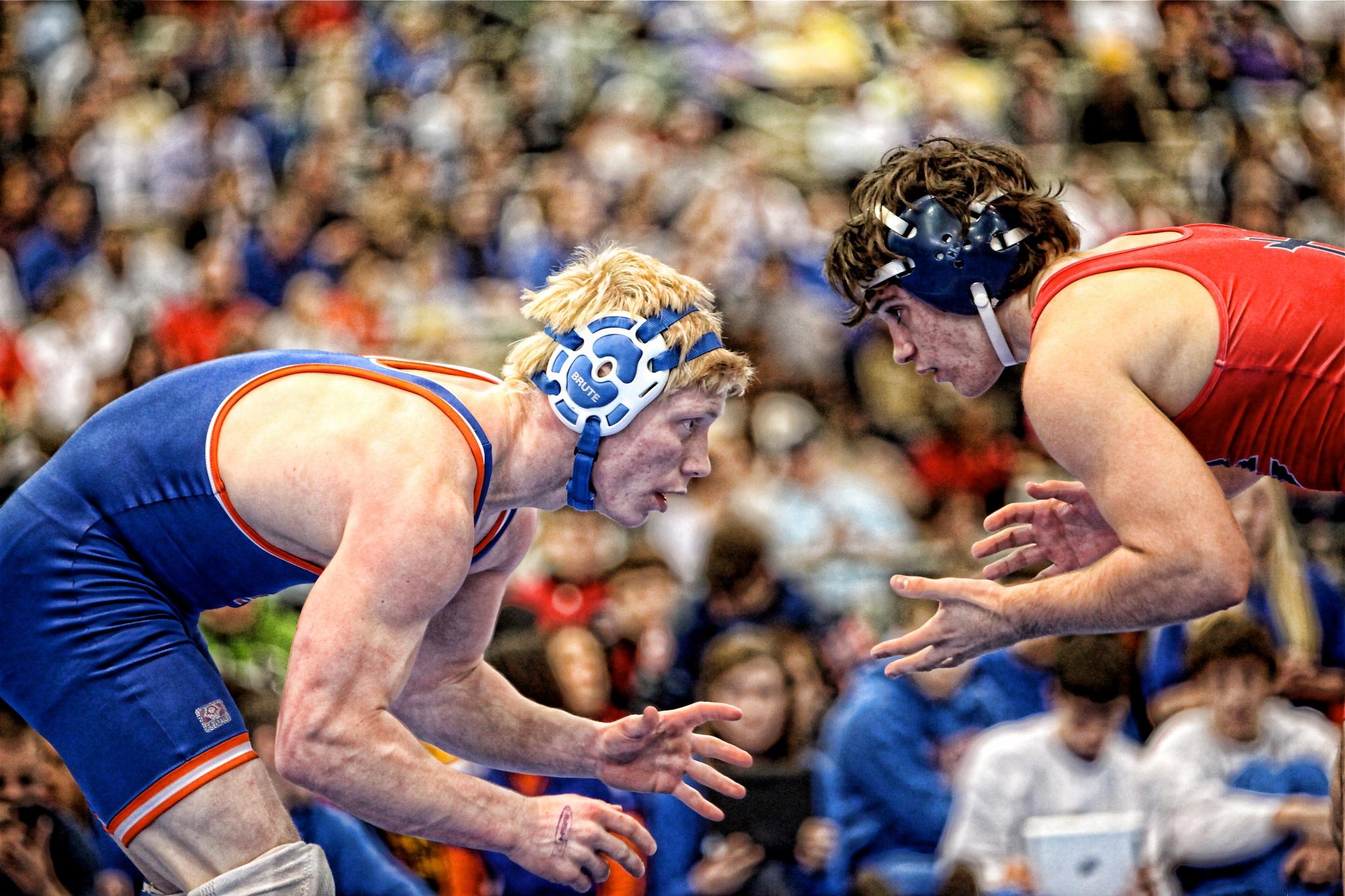 Championship Match by Steve Schindler
