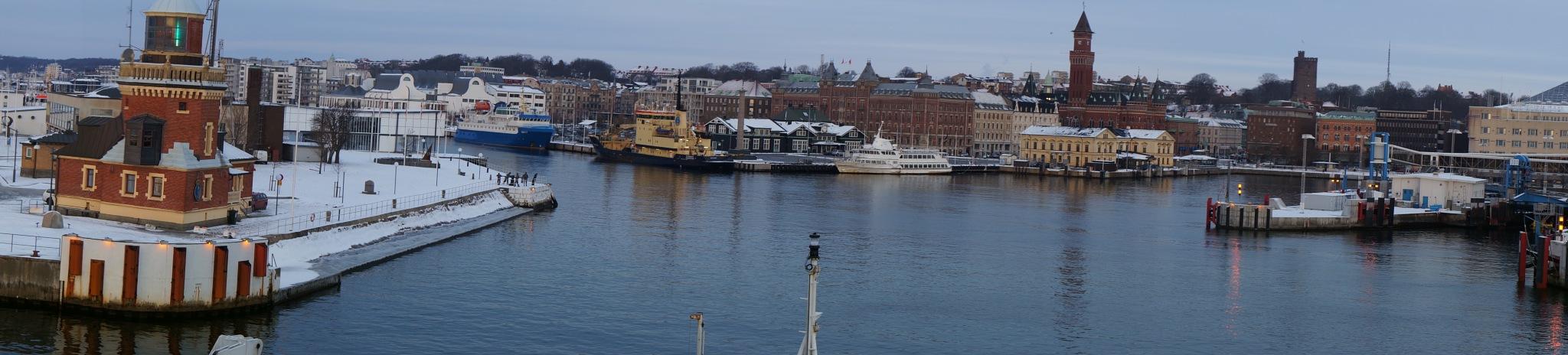 my hometown Helsingborg by Max Cesare Parodi