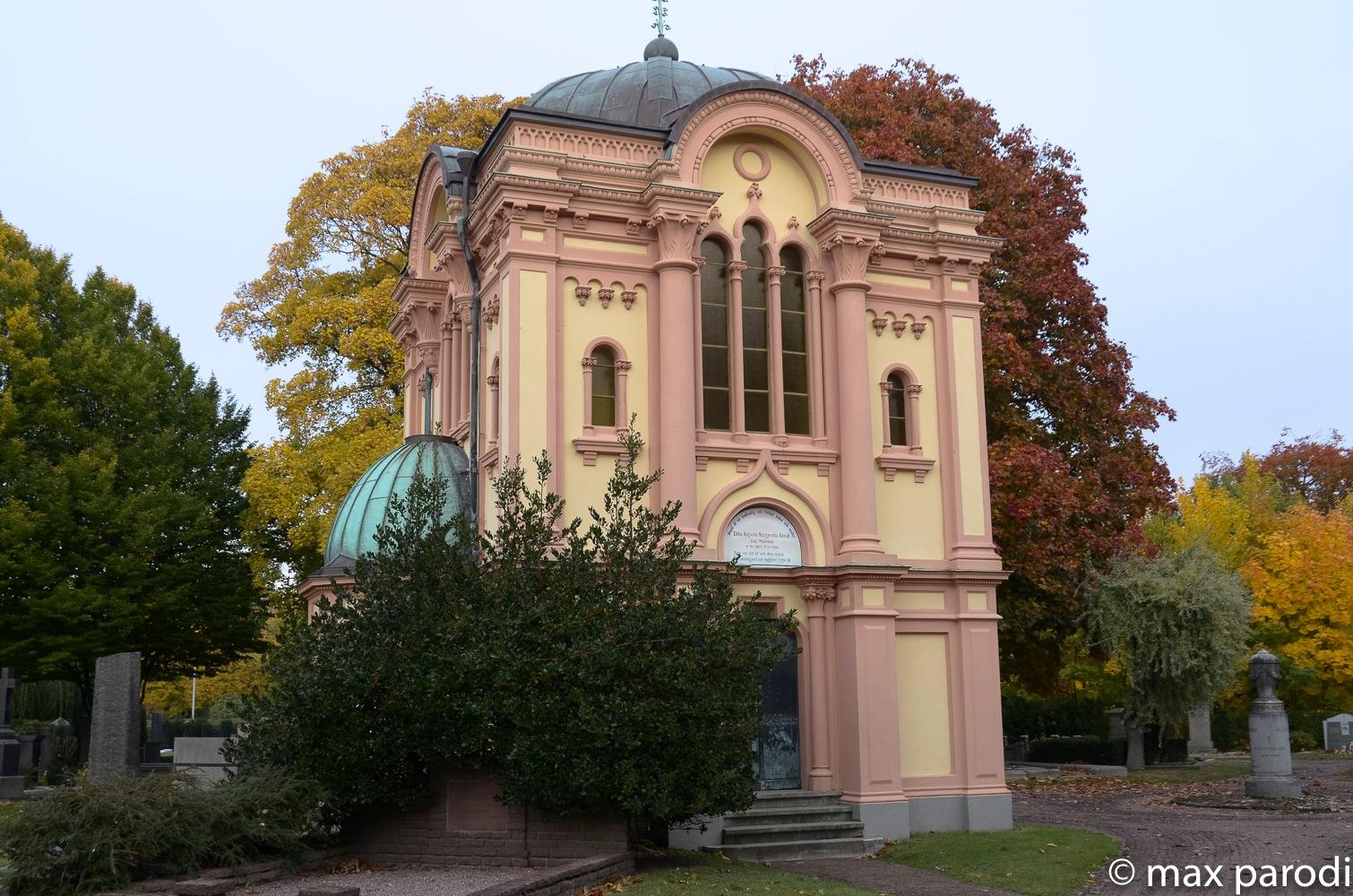 Mausoleum, by Max Cesare Parodi