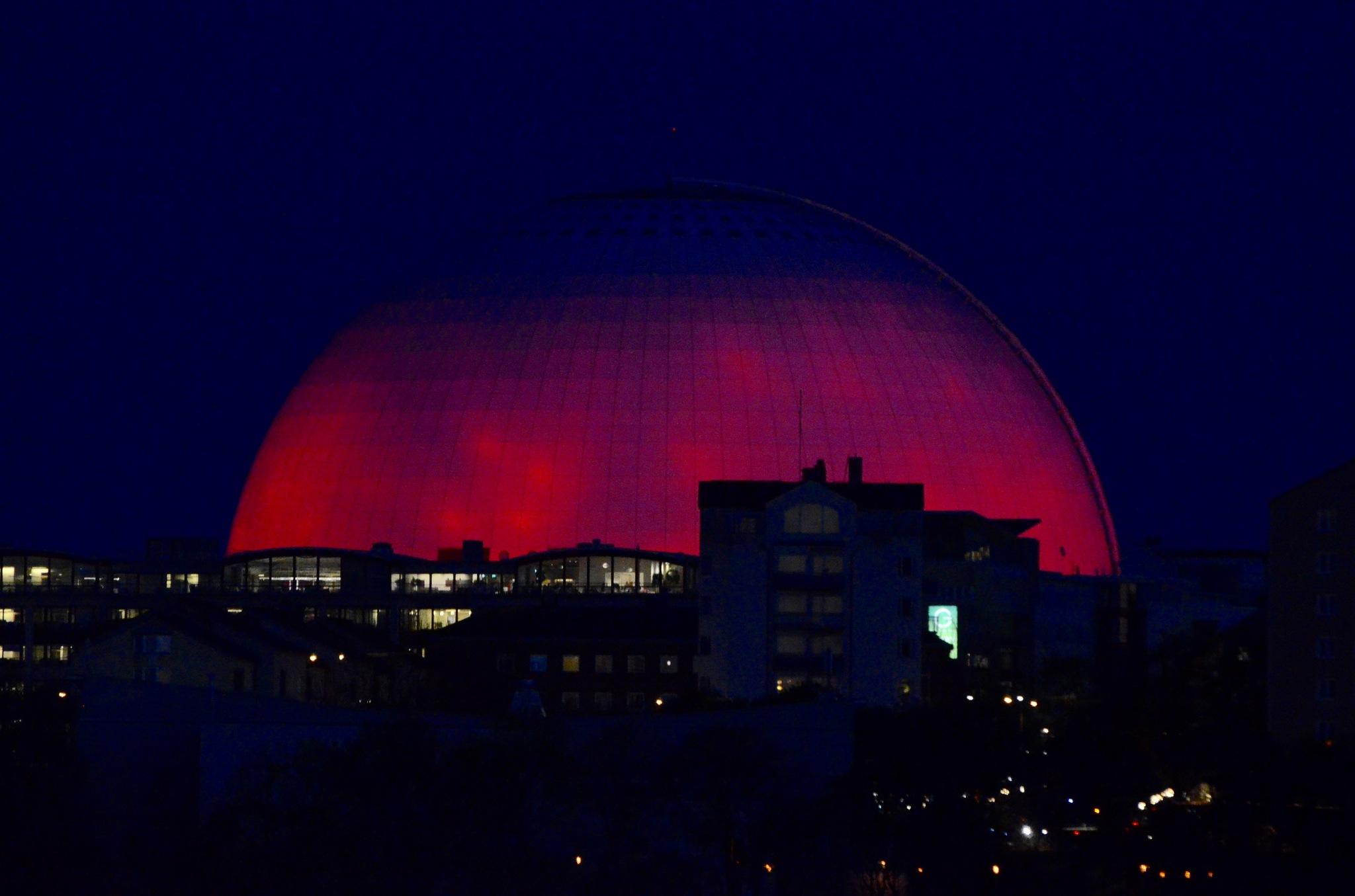 Globen  Stockholm  by Max Cesare Parodi