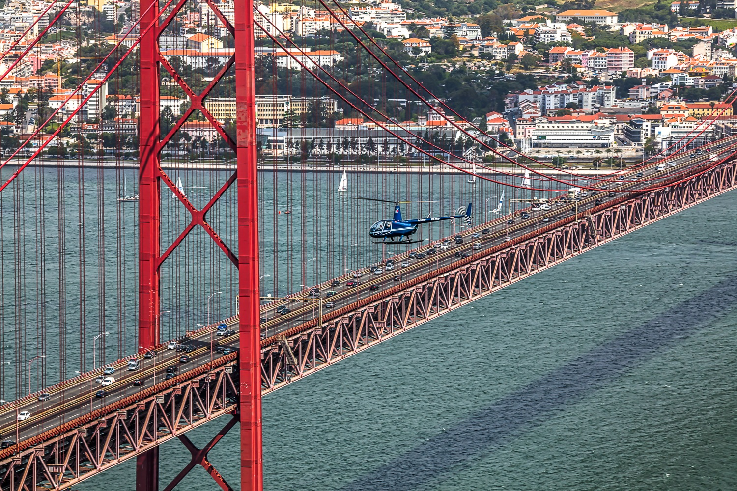 Photo in Cityscape #toy's #portugal #lisbon #lisboa #bridge #europe #red #helicopter #river #adventure