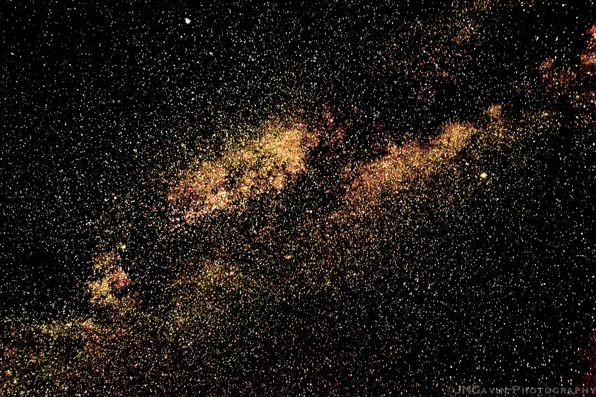 Milky Way by John Gavin