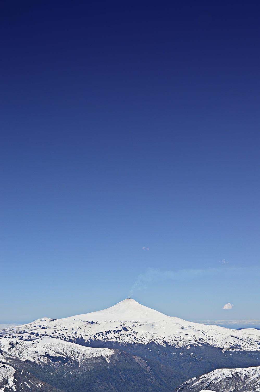 Volcan Villarrica by Luiz Caju