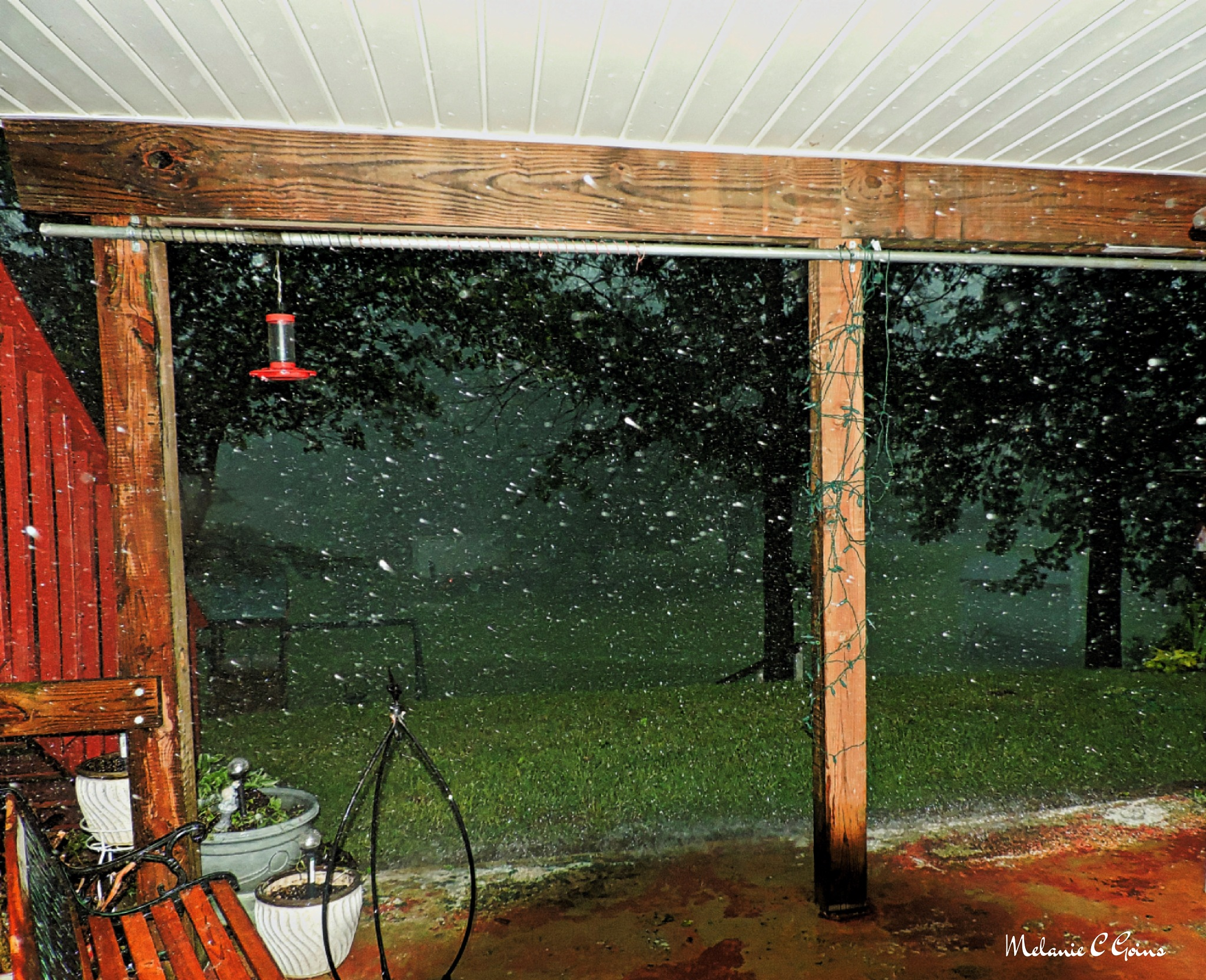 The Rain.... by Melanie Goins