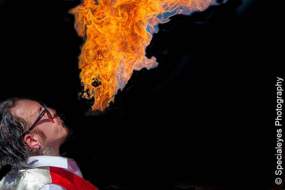 Fire eater  by stephenjenkins