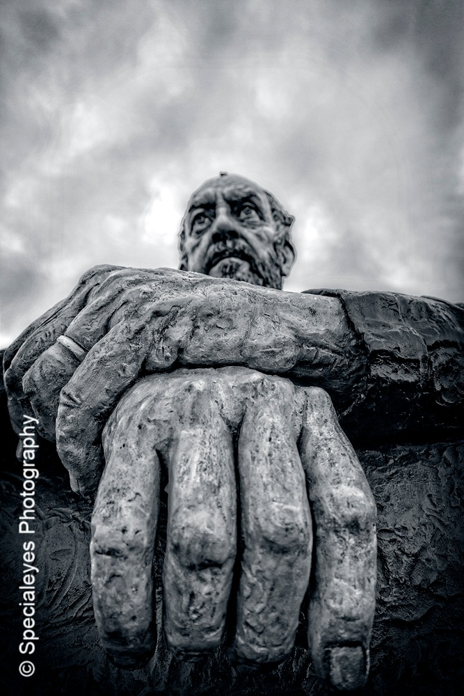 Seated man (4) by stephenjenkins