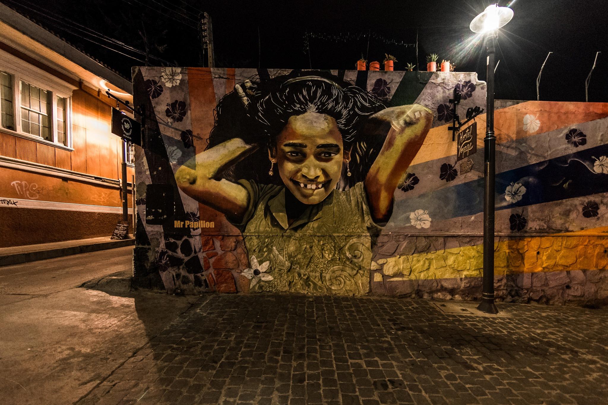 Grafiti por Mr Papillon by Michel Droguett C