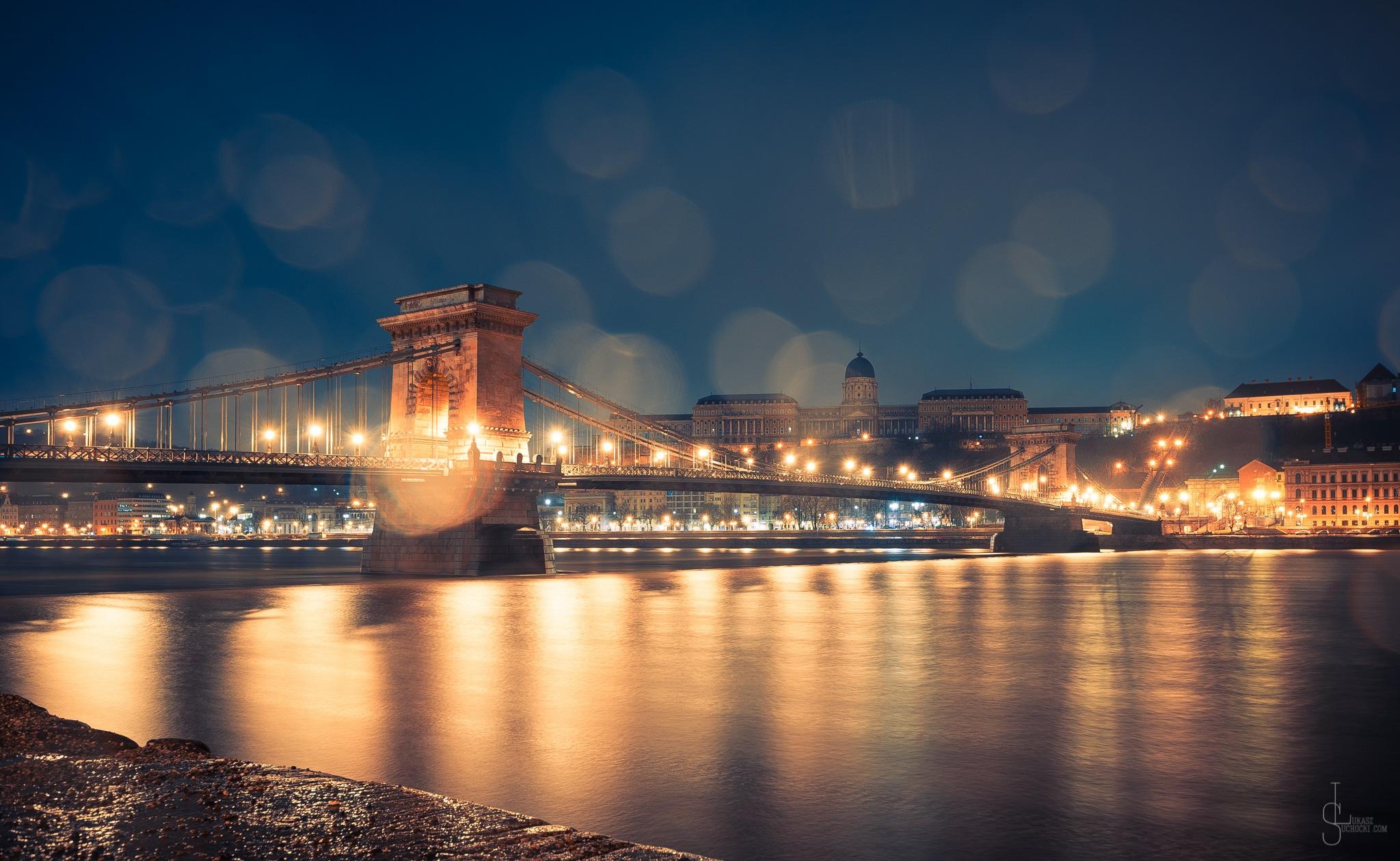 Rainy Budapest by Lukasz Suchocki