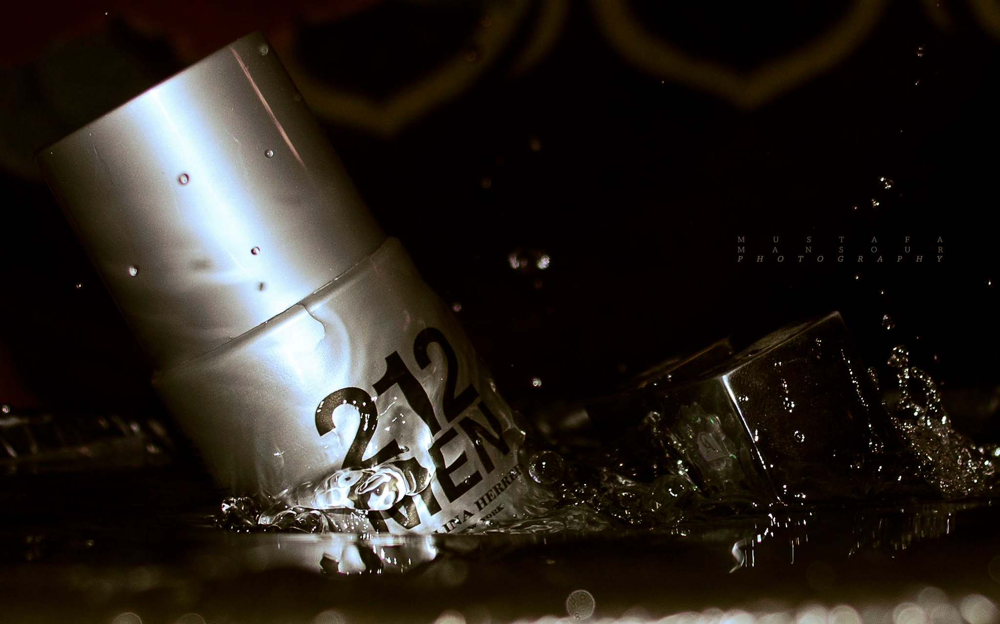 Ads for 212 perfume 3 by MustafaMansour