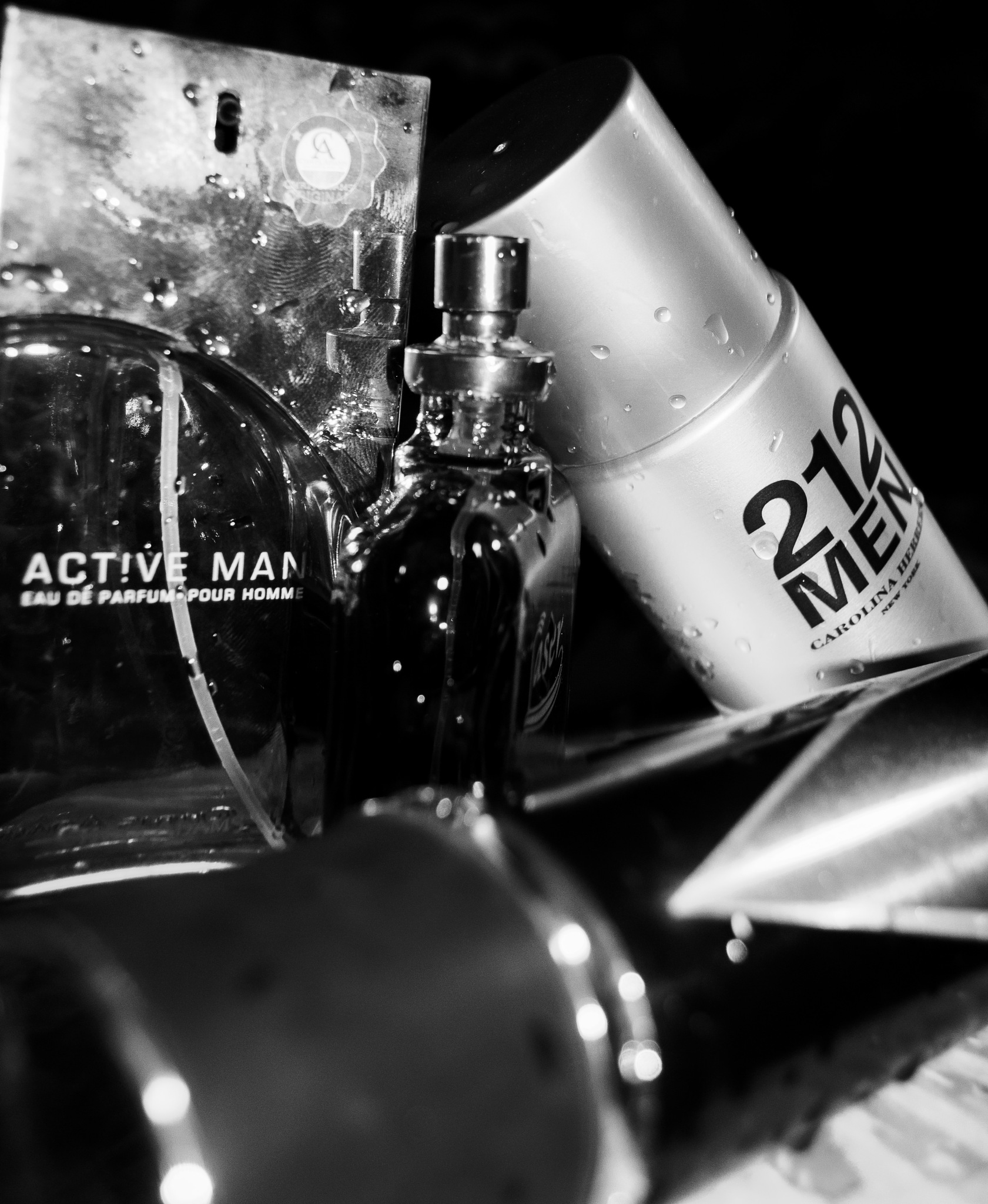 Ads for 212 perfume 5 by MustafaMansour