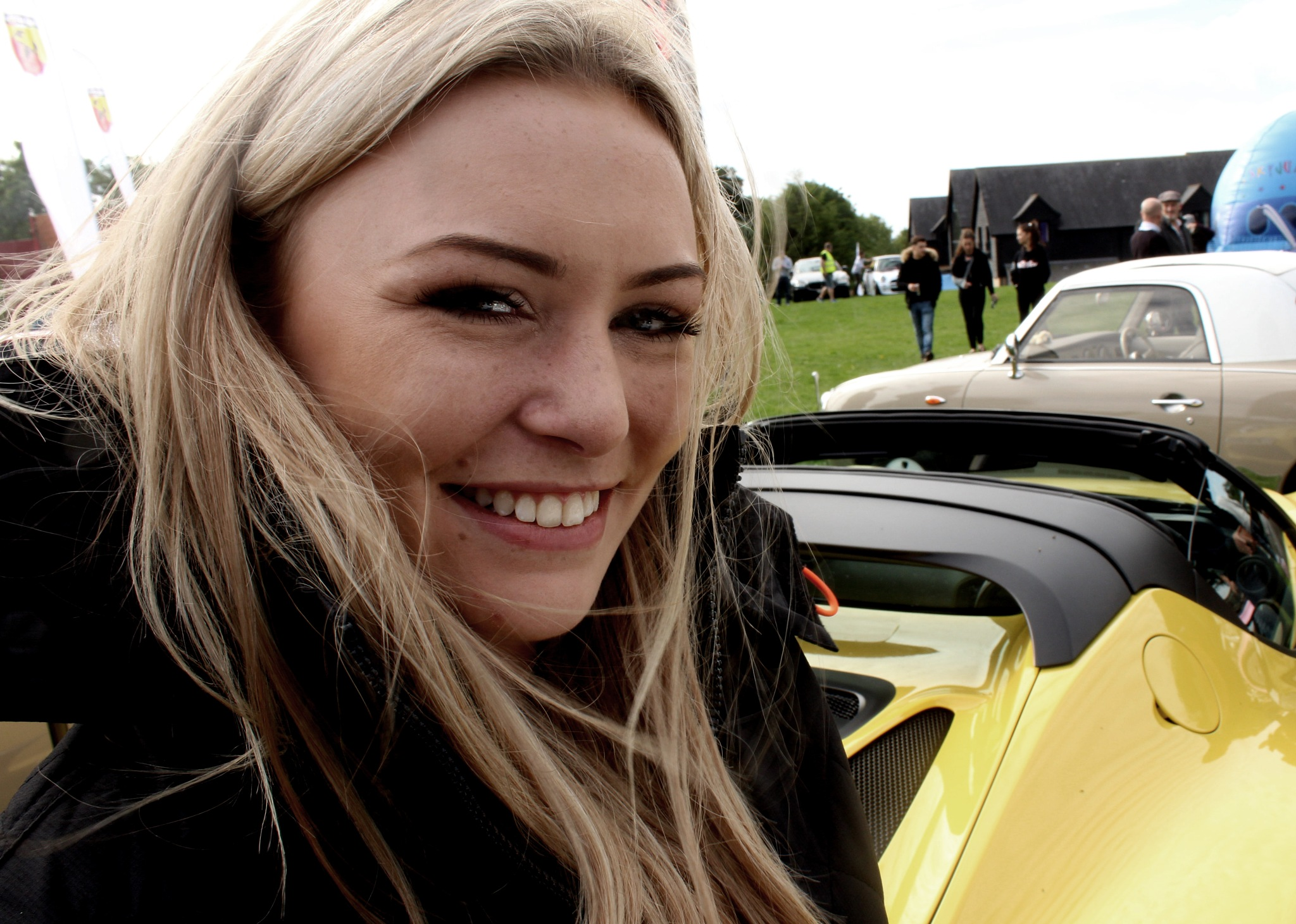 Girl at a Car Show by MartinIngley