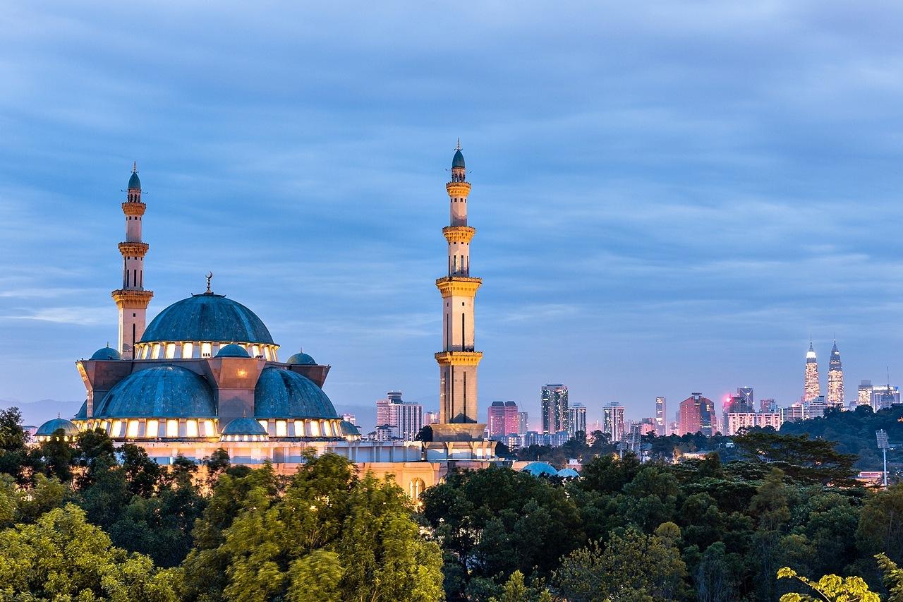 Masjid Wilayah by Abd Rahman