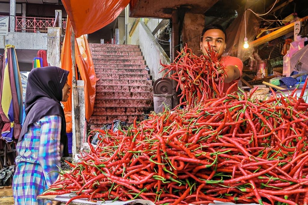 Fiery red hot by Abd Rahman