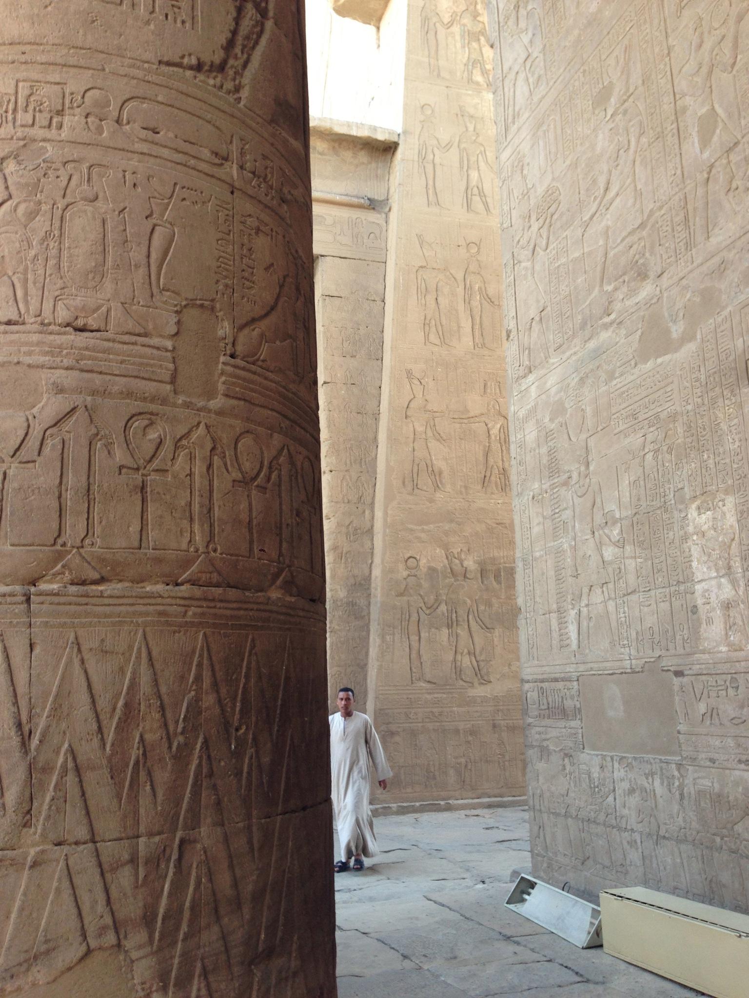 Temple in Egypt by LordJohan58