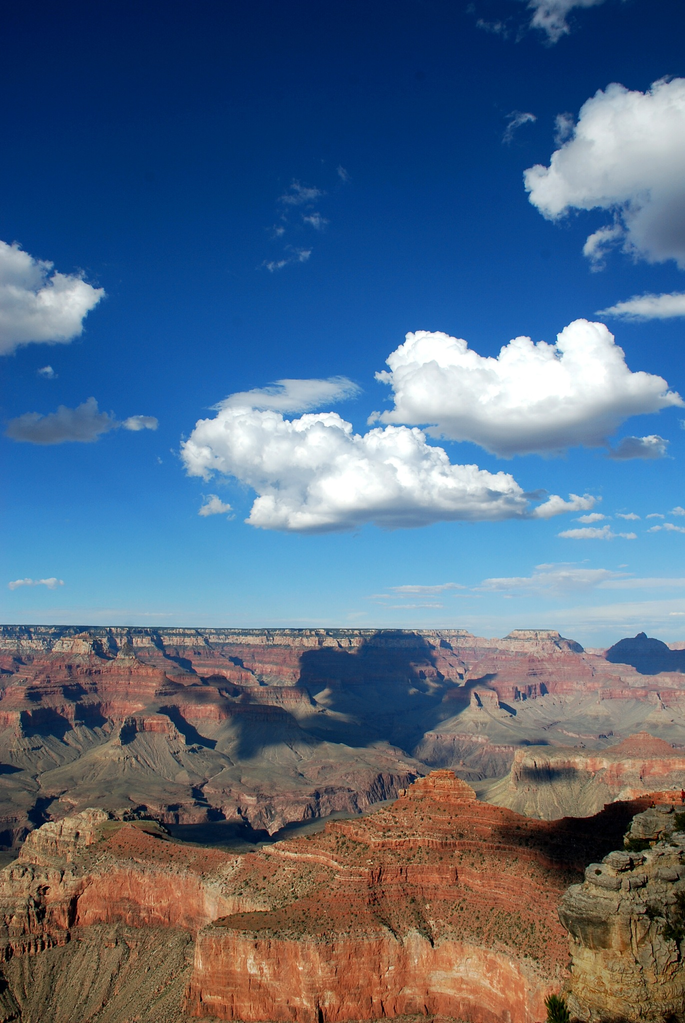 Clouds above te Grand Canyon by Christel Mantel
