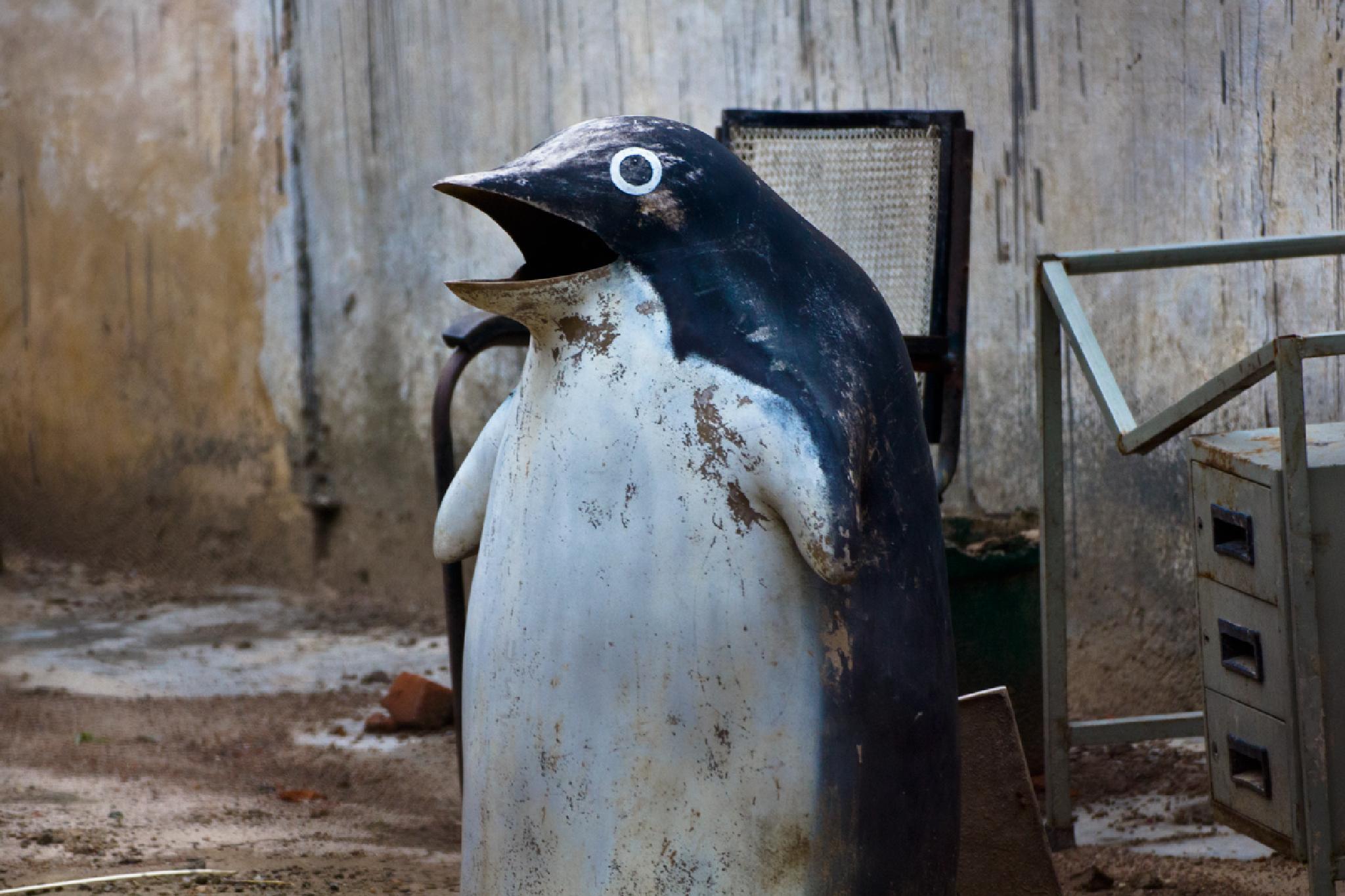 Eroded Penguin by jorgevazquez214
