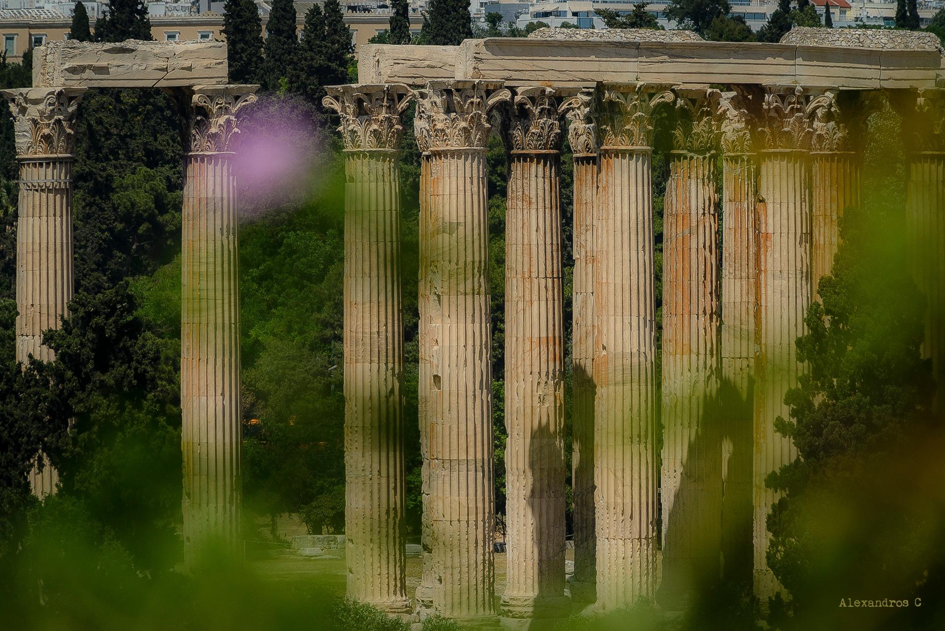 Temple of Zeus by Alexandros C