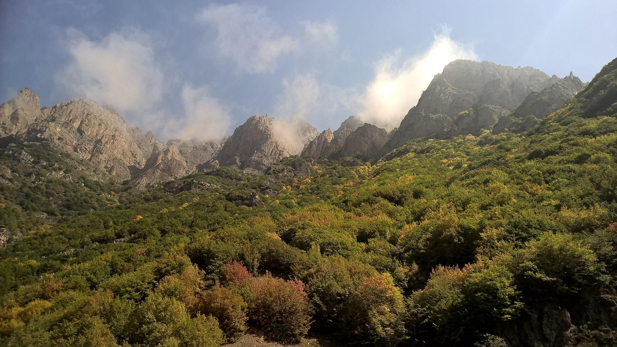 Beautiful mountain   by Ali Hosseini
