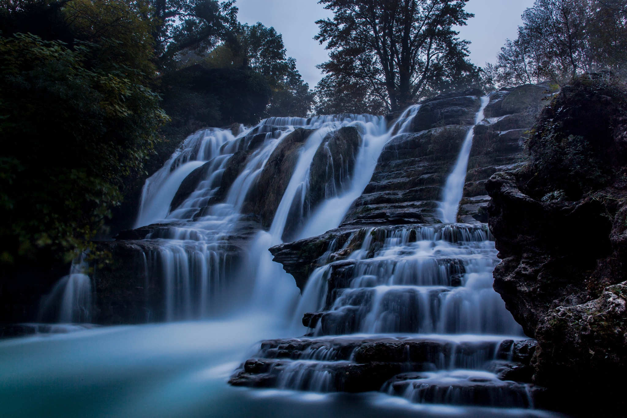 The WaterFalls by JustinGalant